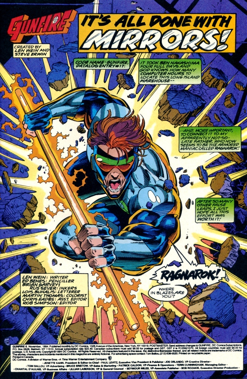 Read online Gunfire comic -  Issue #6 - 3