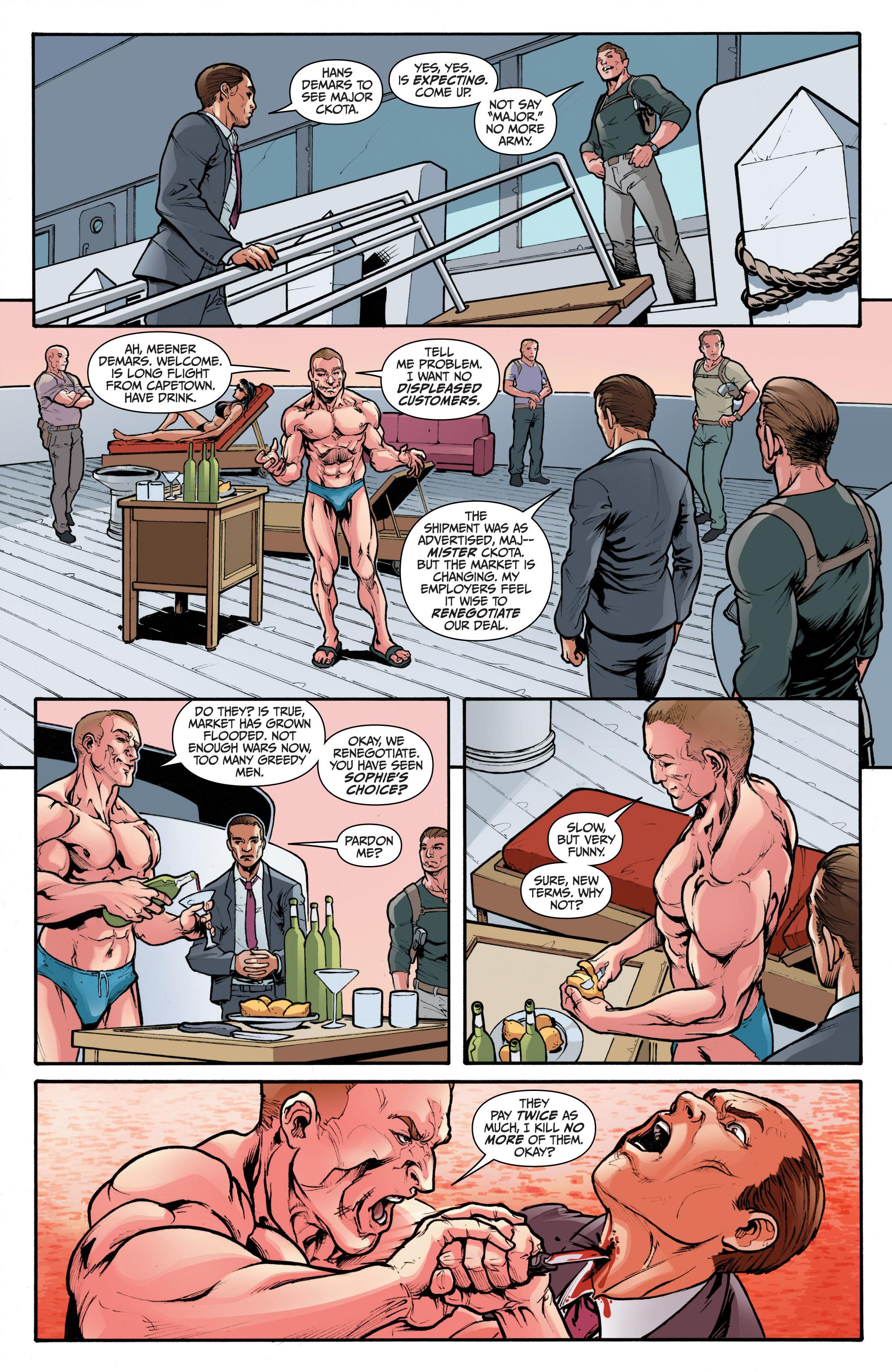 Read online 3 Guns comic -  Issue #2 - 5