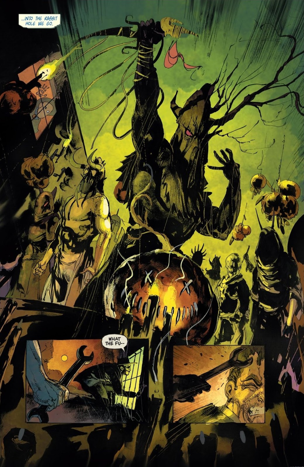 Read online Trick 'r Treat: Days of the Dead comic -  Issue # TPB - 82