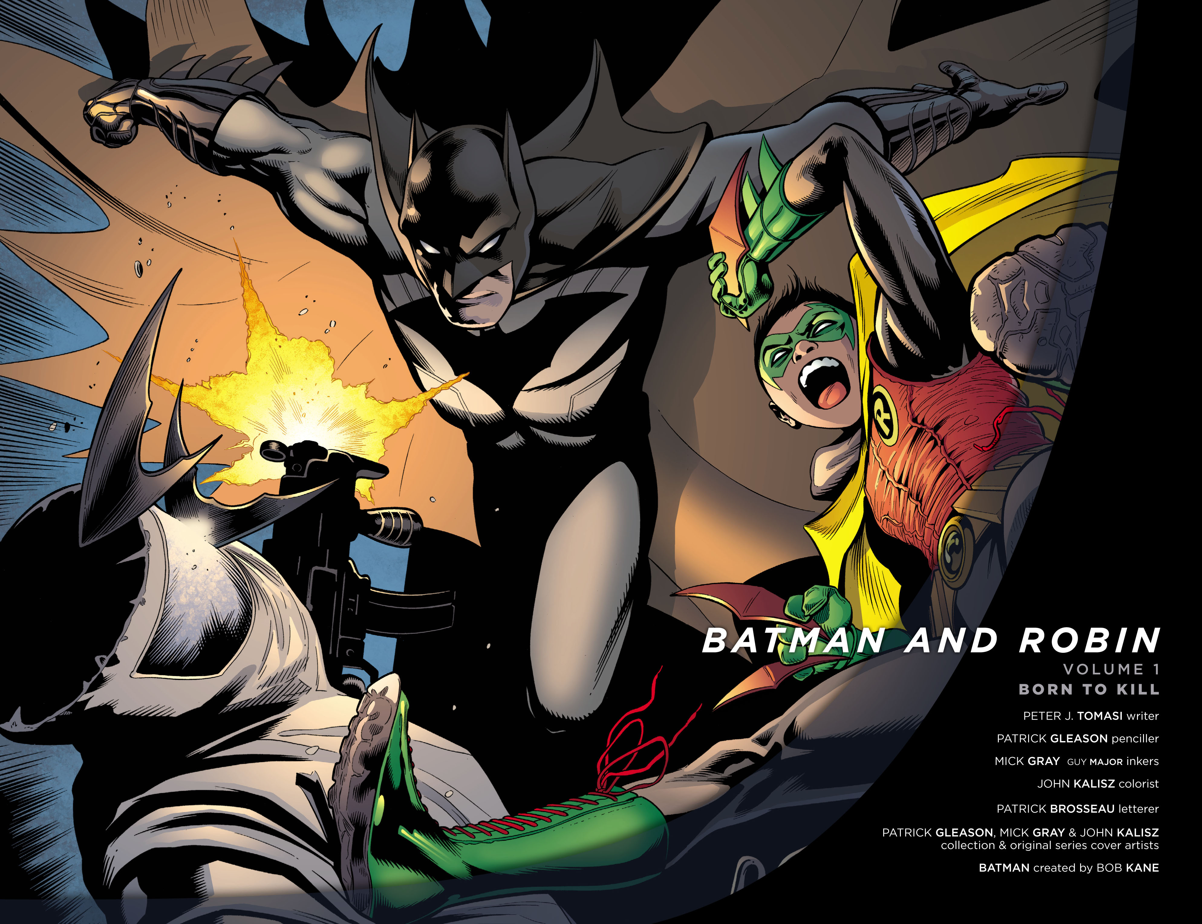 Read online Batman and Robin (2011) comic -  Issue # TPB 1 - 3