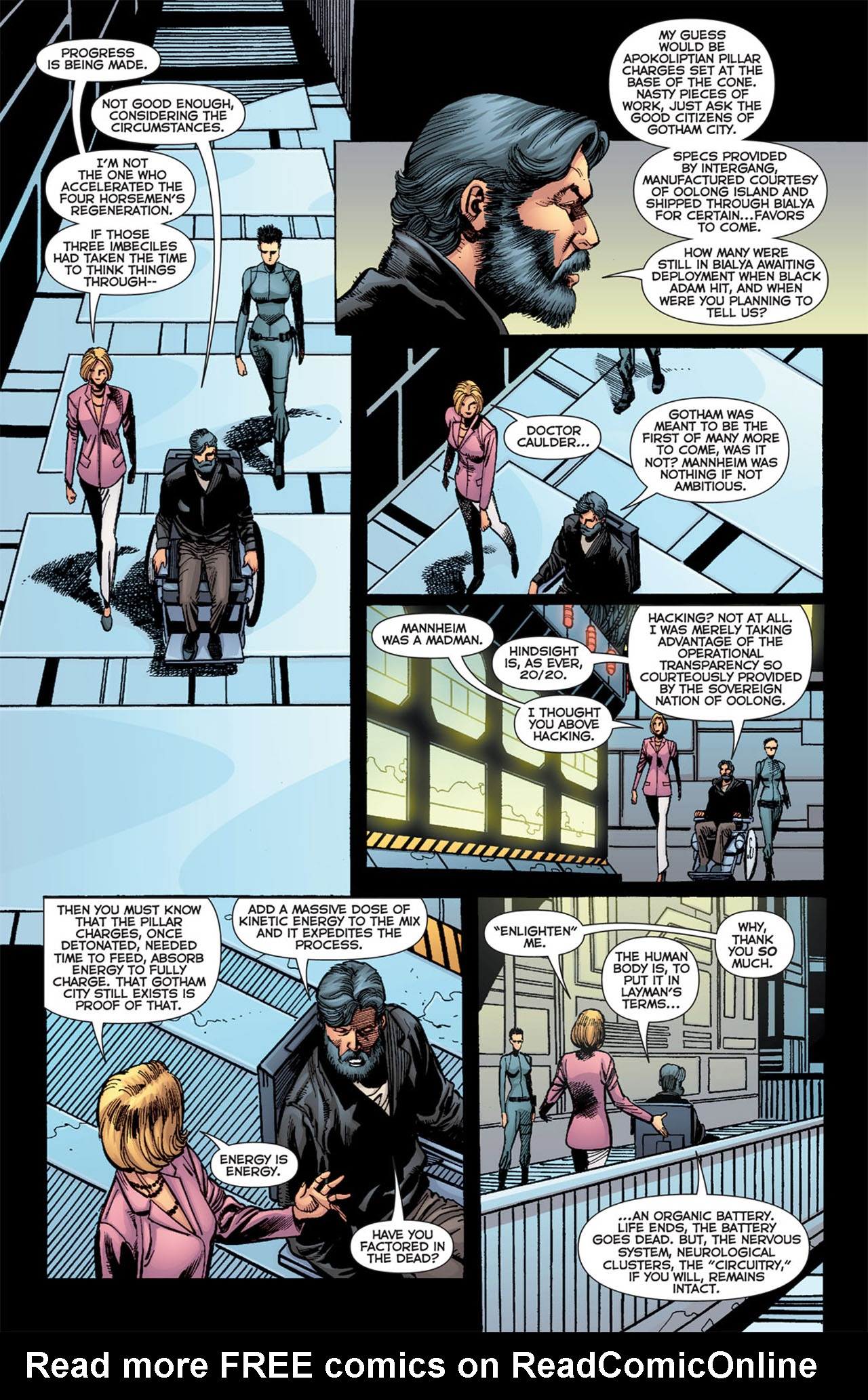 Read online 52 Aftermath: The Four Horsemen comic -  Issue #4 - 9