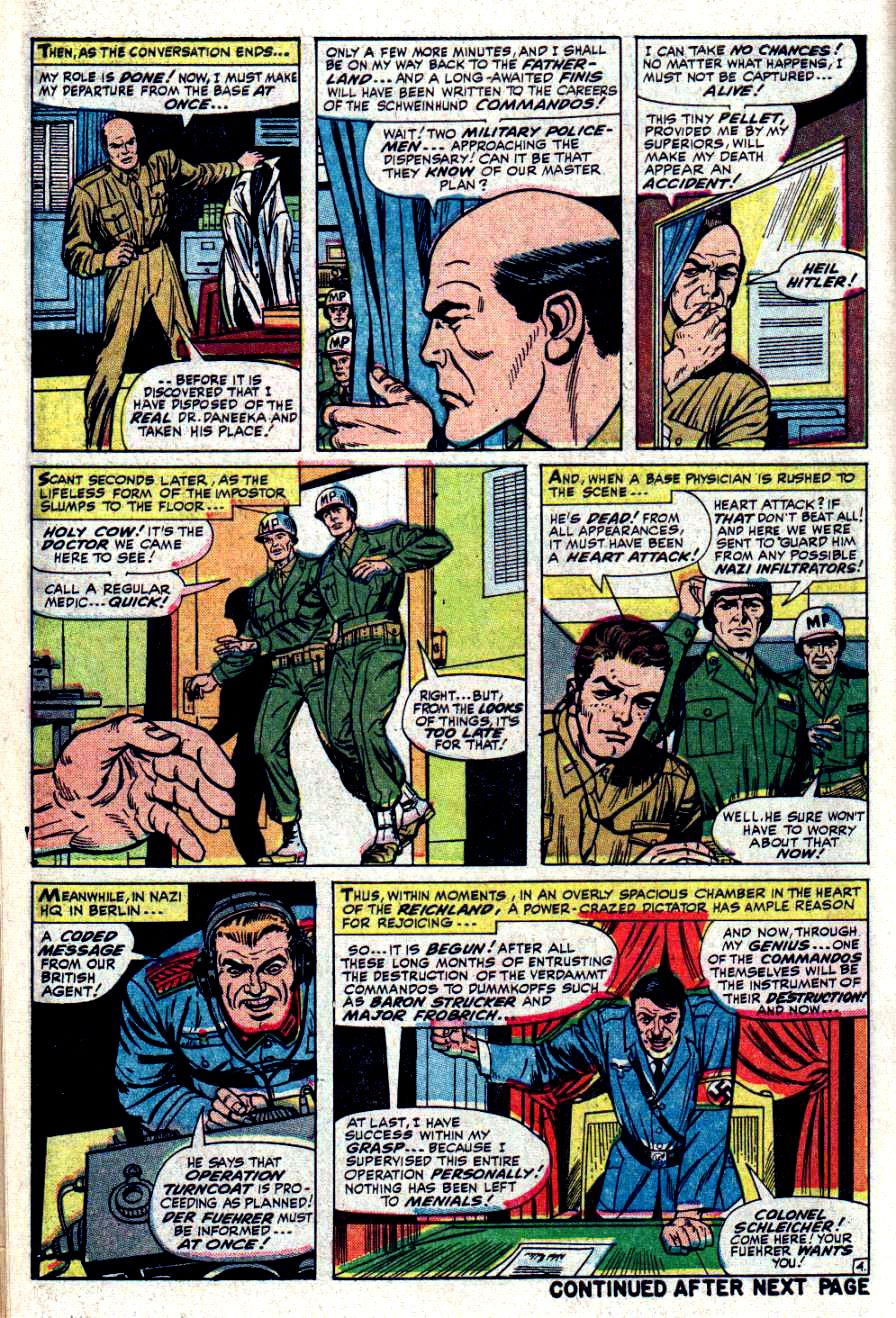 Read online Sgt. Fury comic -  Issue #32 - 6