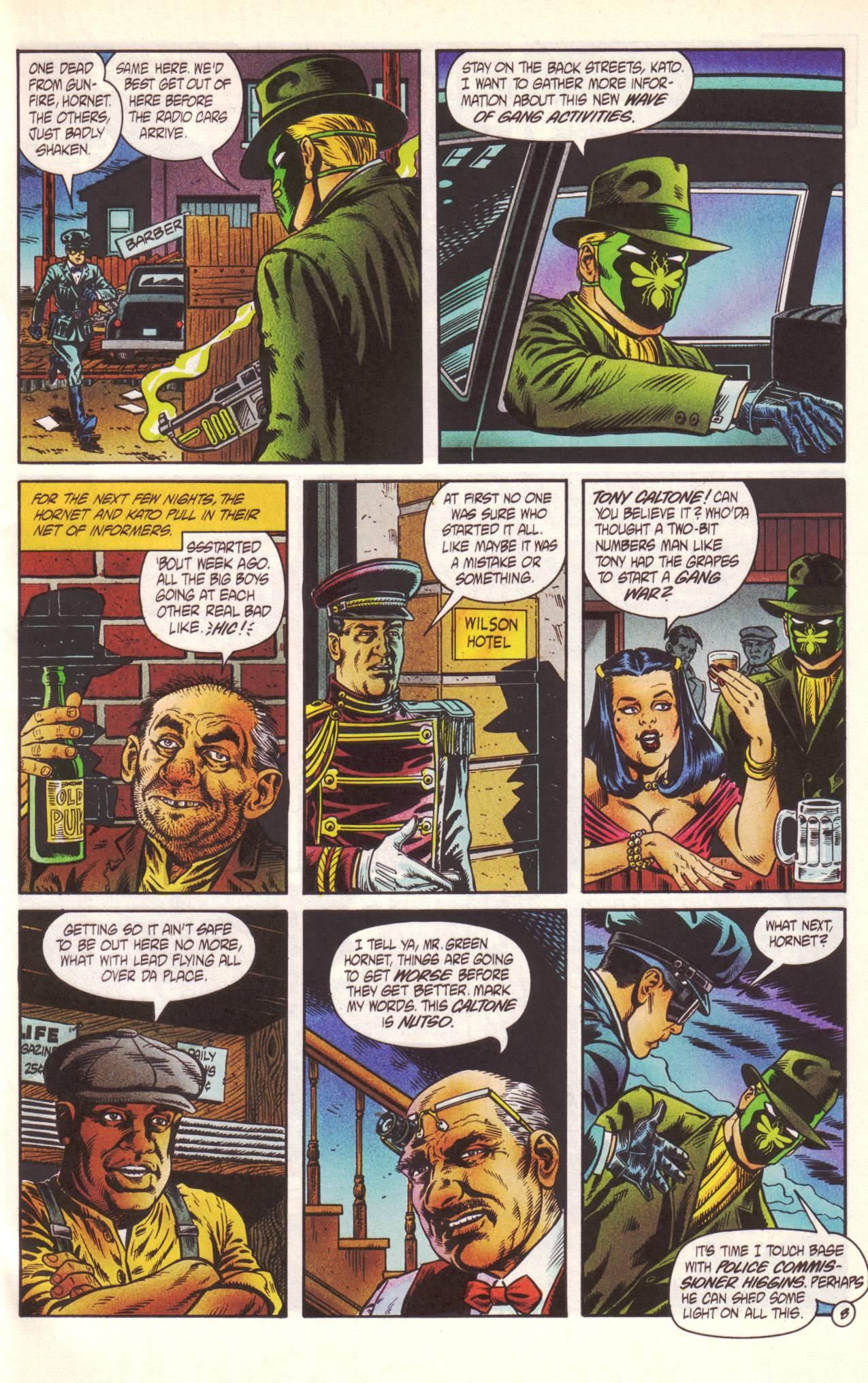 Read online Sting of The Green Hornet comic -  Issue #1 - 9
