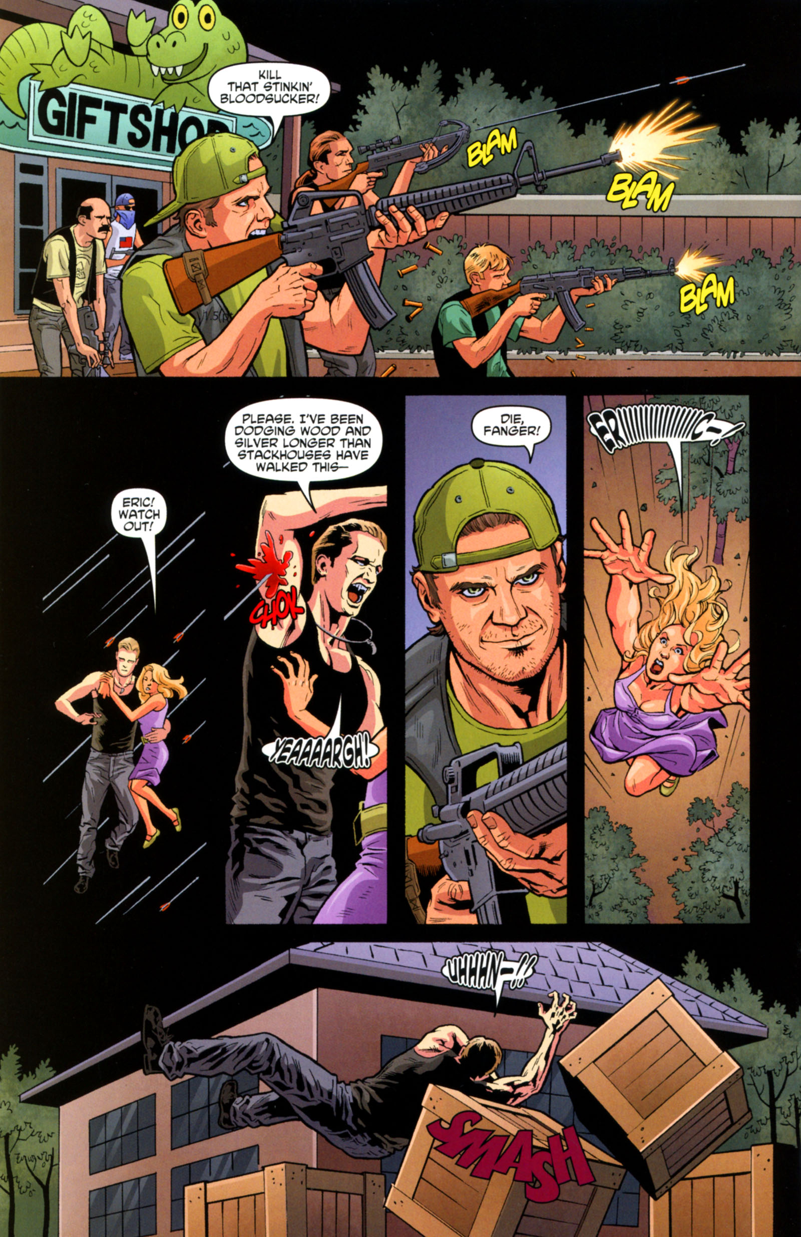 Read online True Blood: Tainted Love comic -  Issue #6 - 4