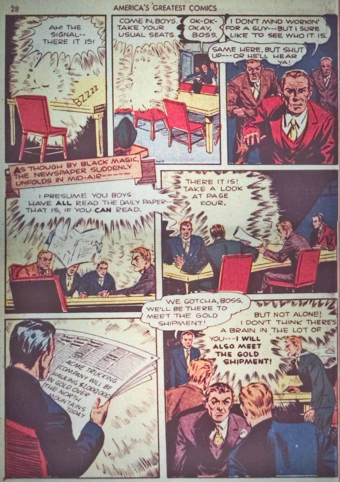 Read online America's Greatest Comics comic -  Issue #1 - 31