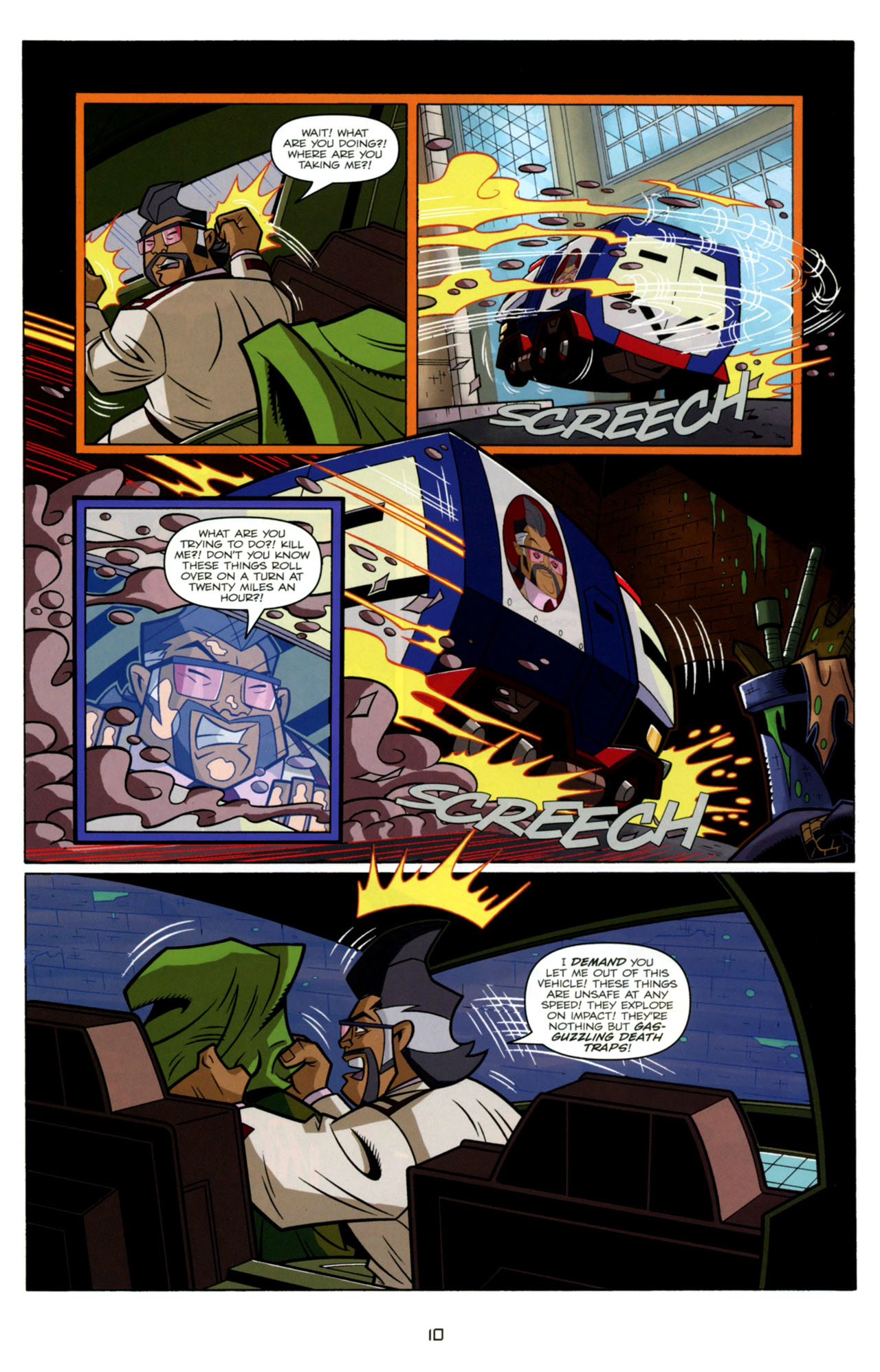 Read online Transformers Animated: The Arrival comic -  Issue #4 - 13