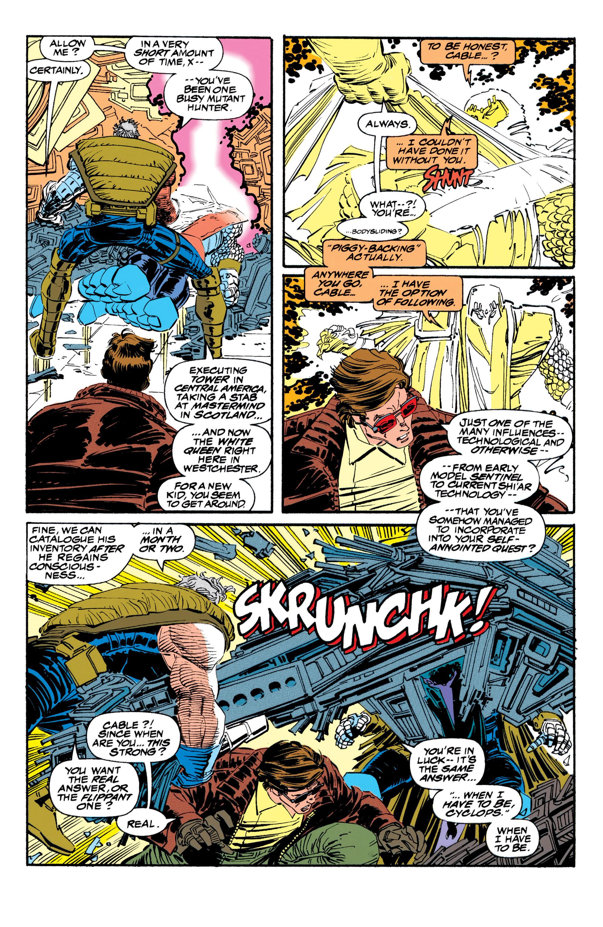 Read online Uncanny X-Men (1963) comic -  Issue #310 - 16