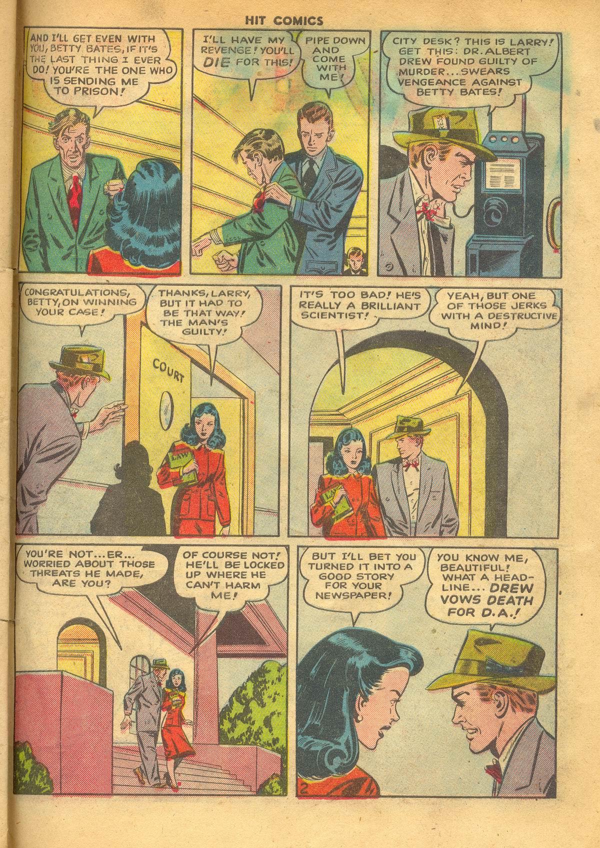 Read online Hit Comics comic -  Issue #60 - 29