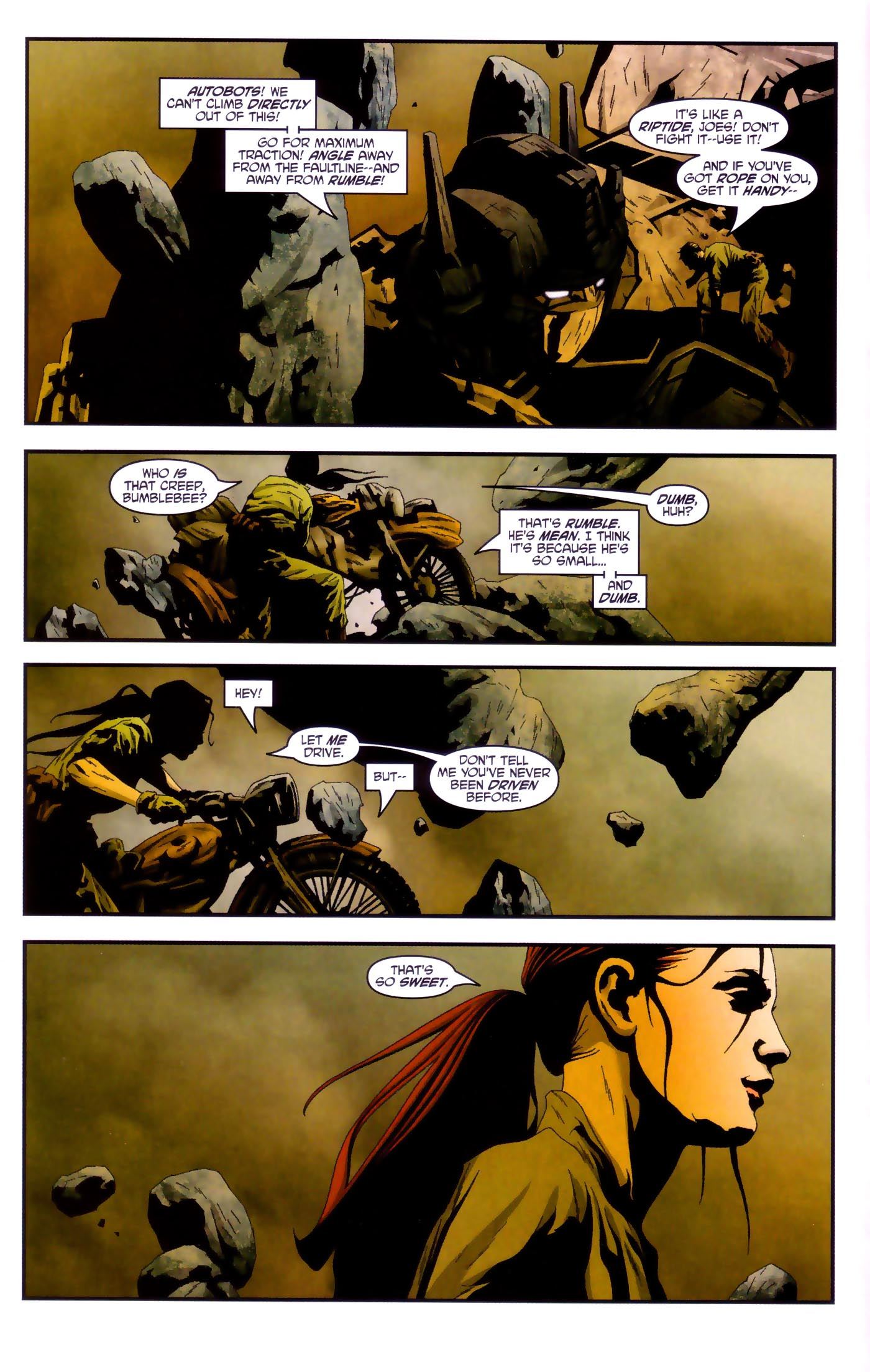 Read online Transformers/G.I. Joe comic -  Issue #4 - 9