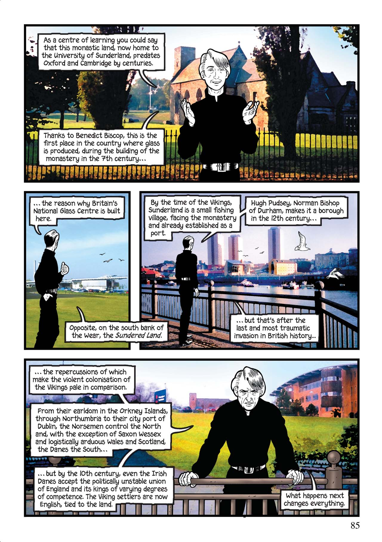 Read online Alice in Sunderland comic -  Issue # Full - 89