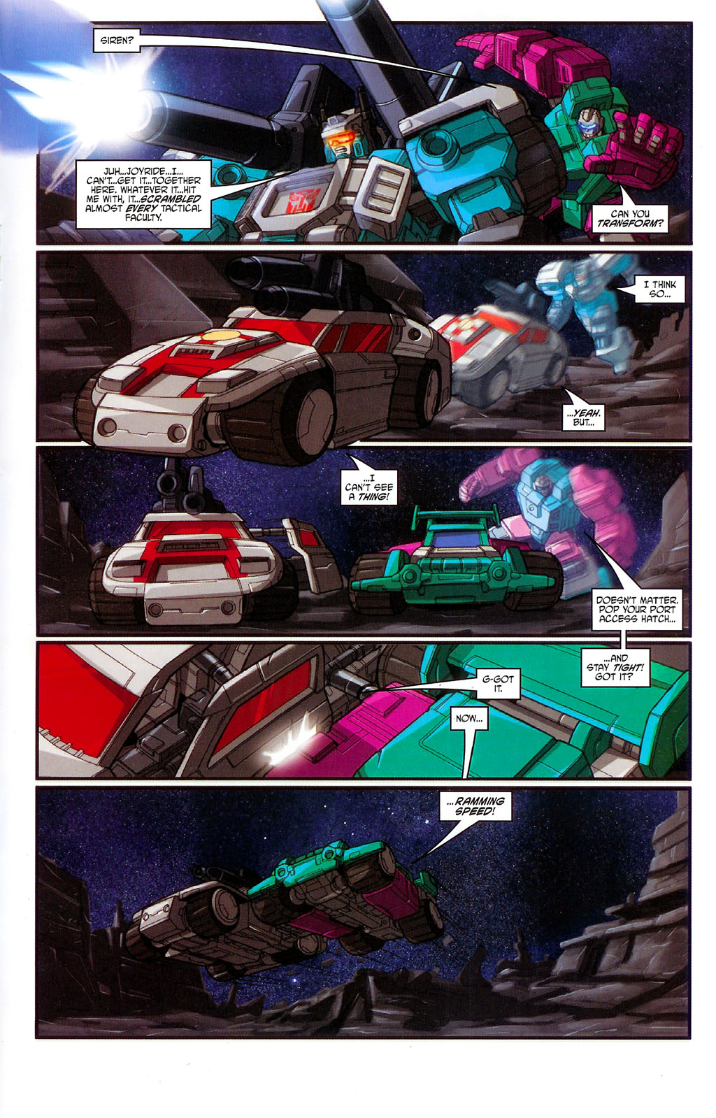 """Read online Transformers War Within: """"The Age of Wrath"""" comic -  Issue #3 - 15"""