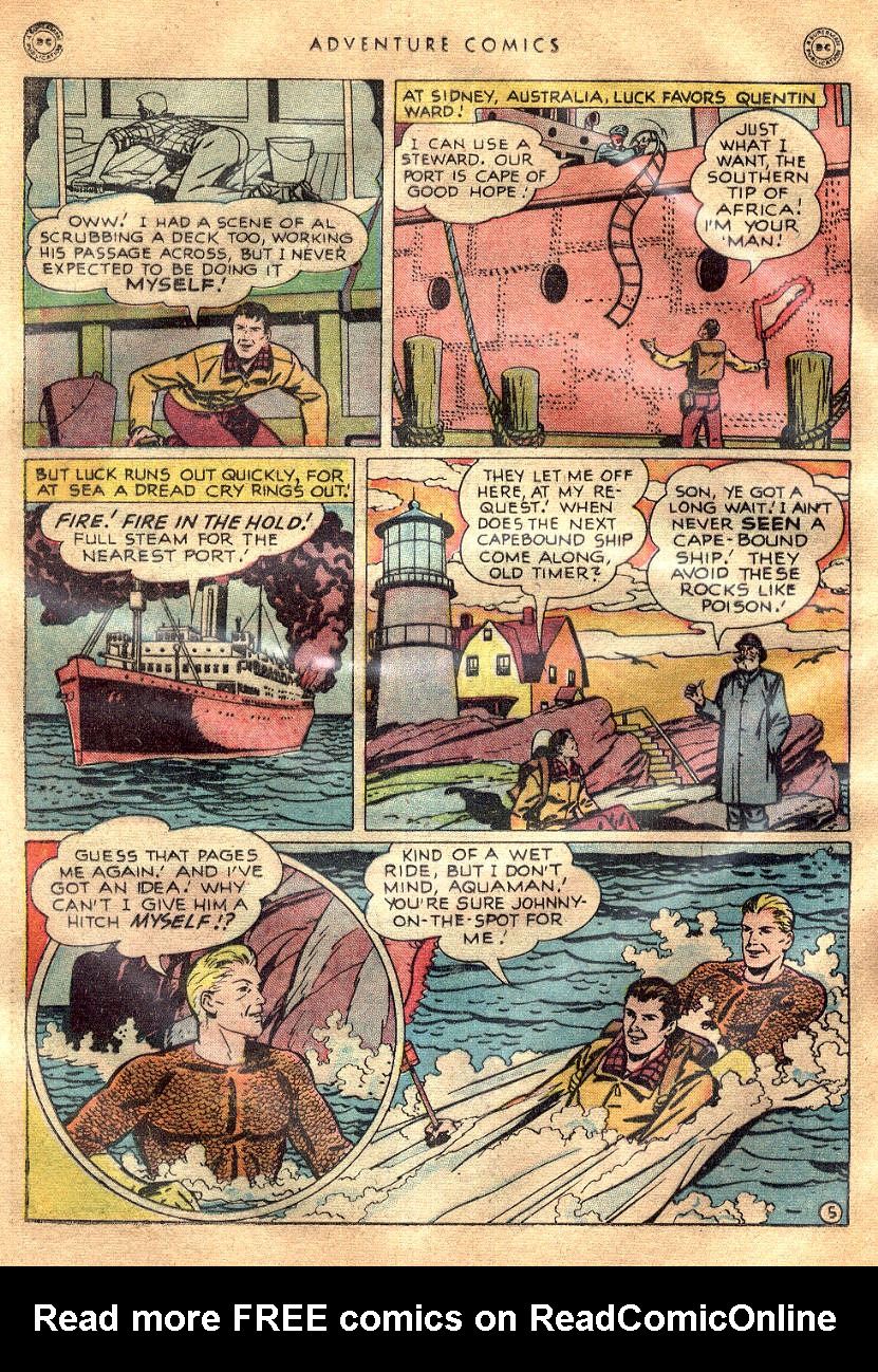 Read online Adventure Comics (1938) comic -  Issue #145 - 39