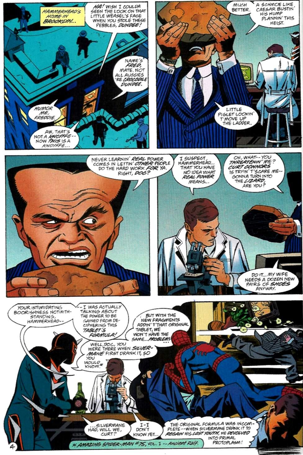 Read online Spider-Man: Lifeline comic -  Issue #2 - 5