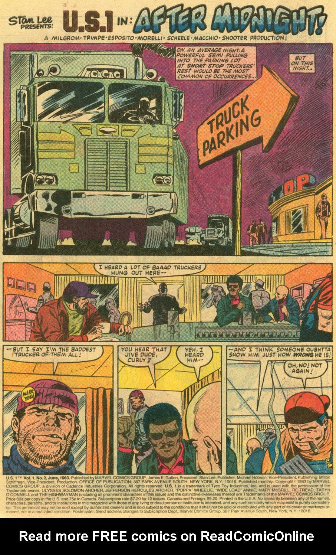 Read online U.S. 1 comic -  Issue #2 - 2