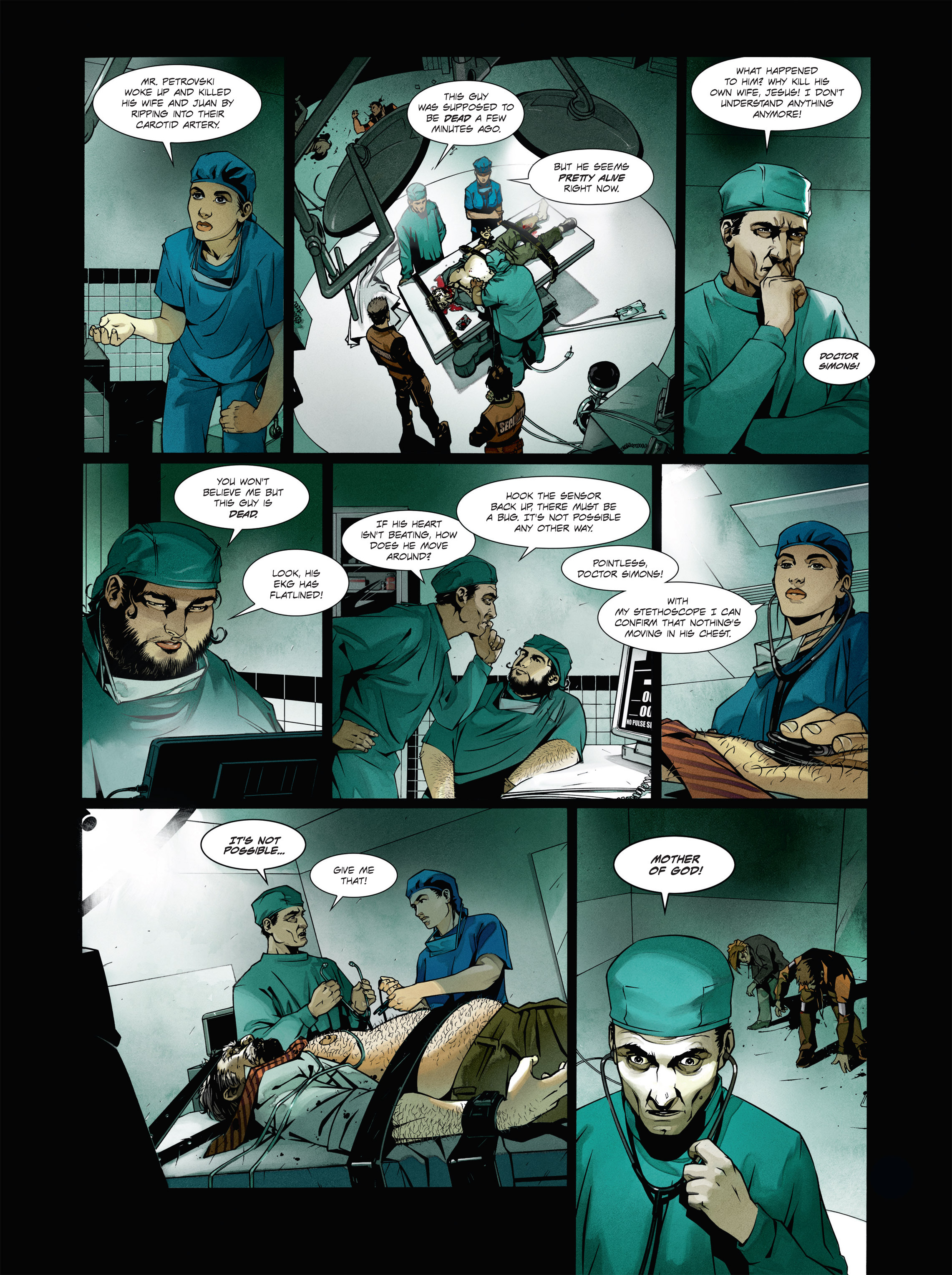 Read online Alice Matheson comic -  Issue #1 - 19