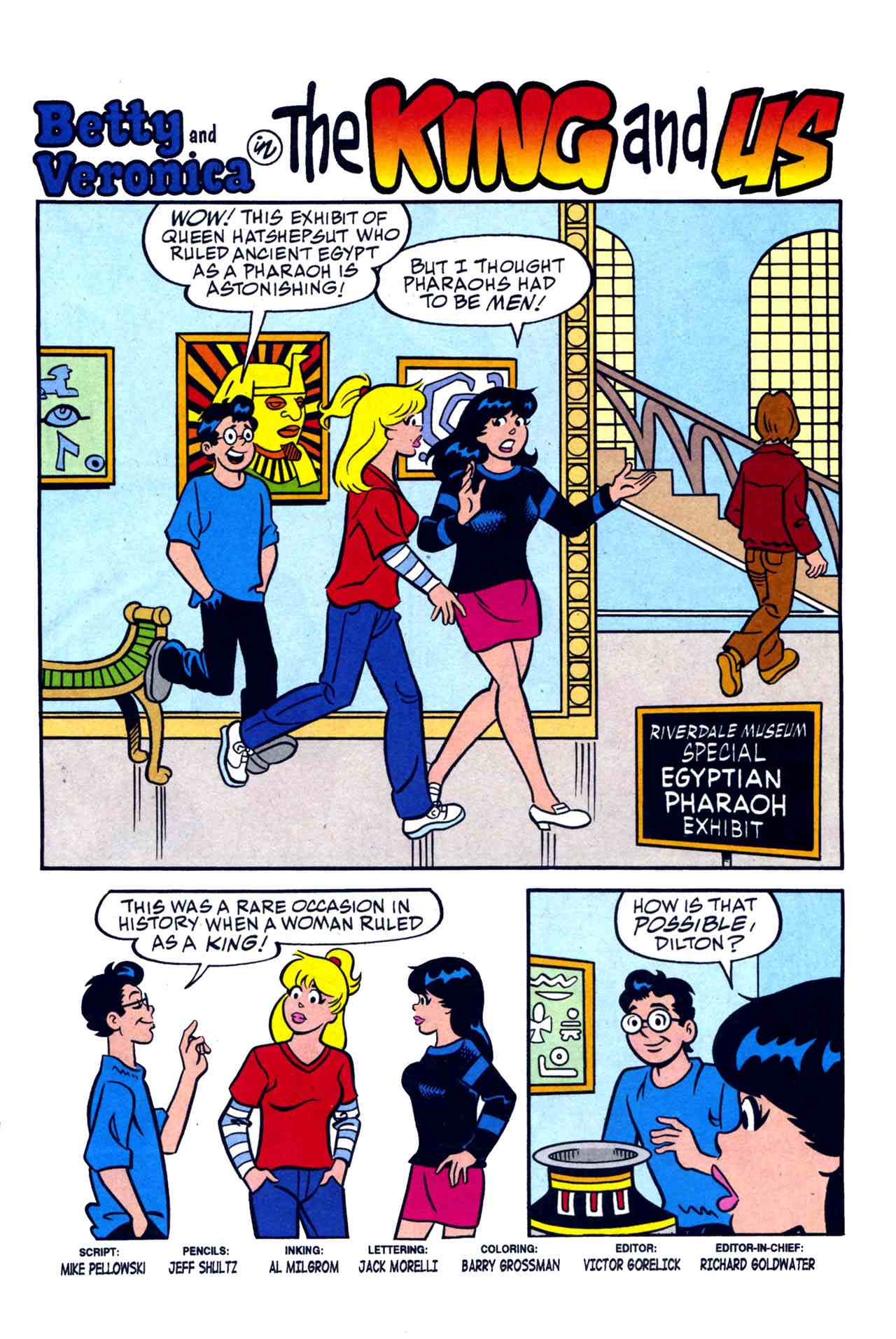 Read online Archie's Girls Betty and Veronica comic -  Issue #230 - 2