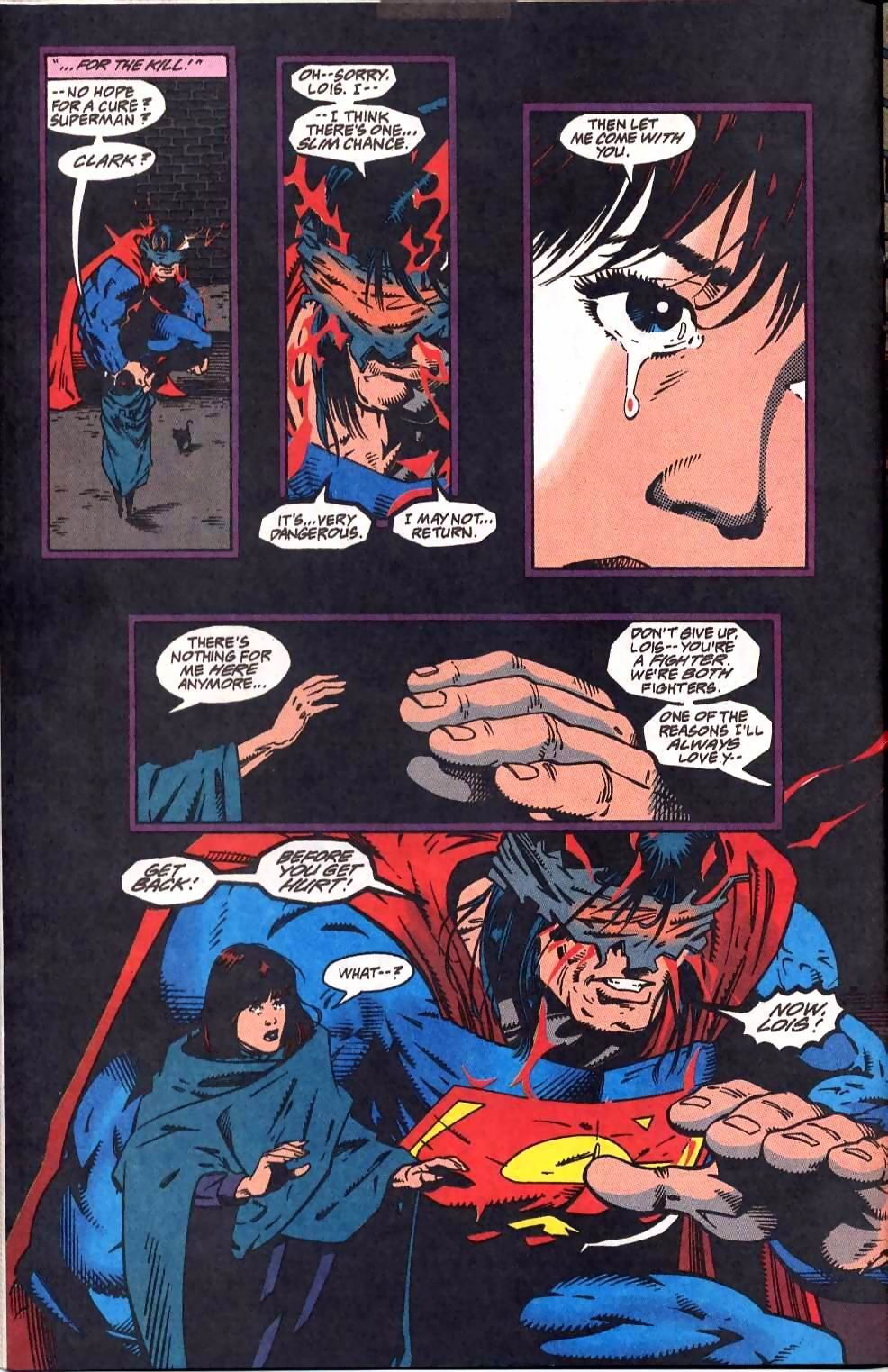 Read online Adventures of Superman (1987) comic -  Issue #512 - 10