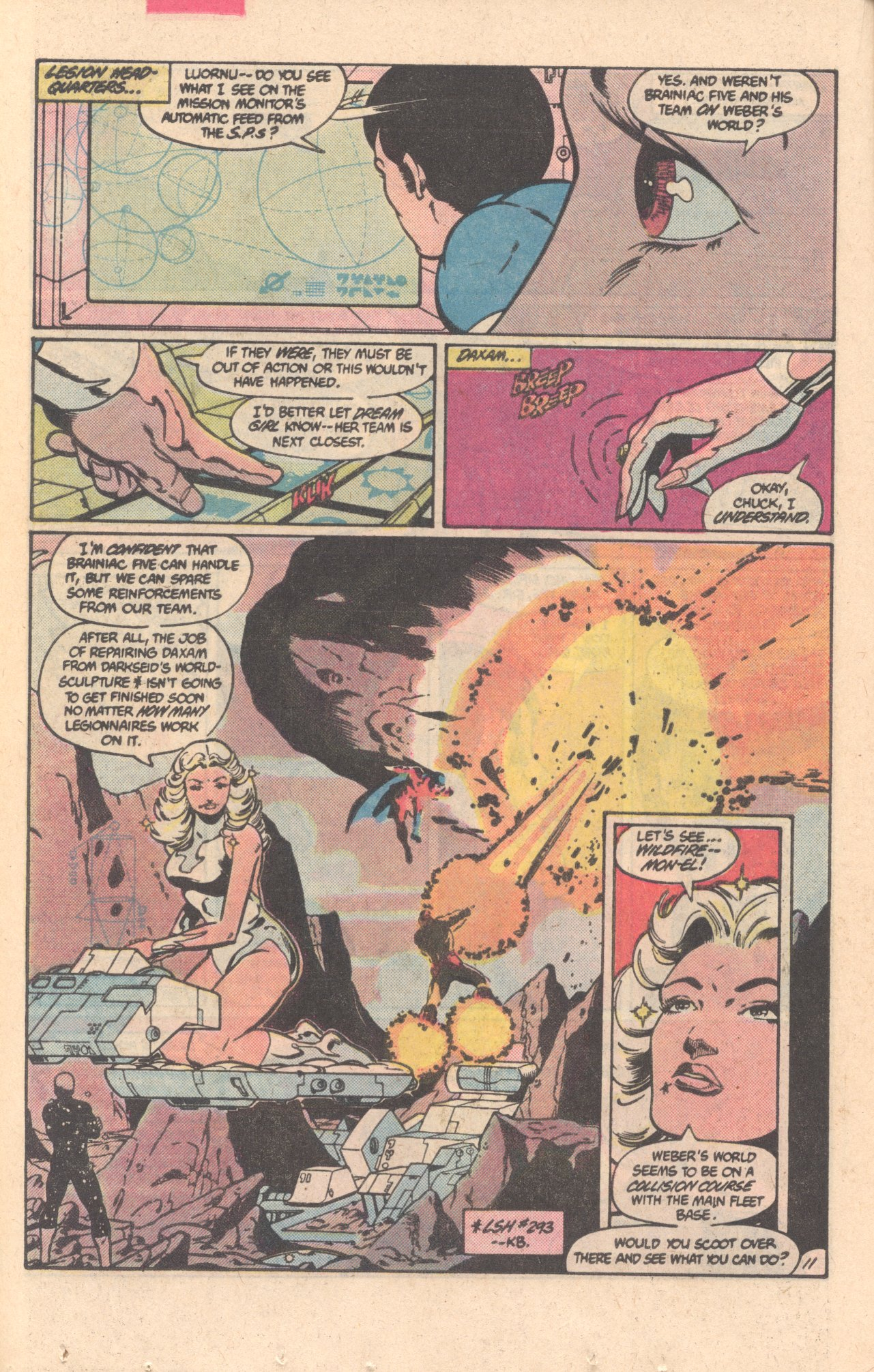 Legion of Super-Heroes (1980) 303 Page 11