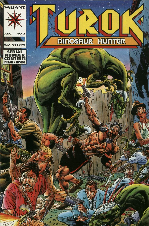 Read online Turok, Dinosaur Hunter (1993) comic -  Issue #2 - 1