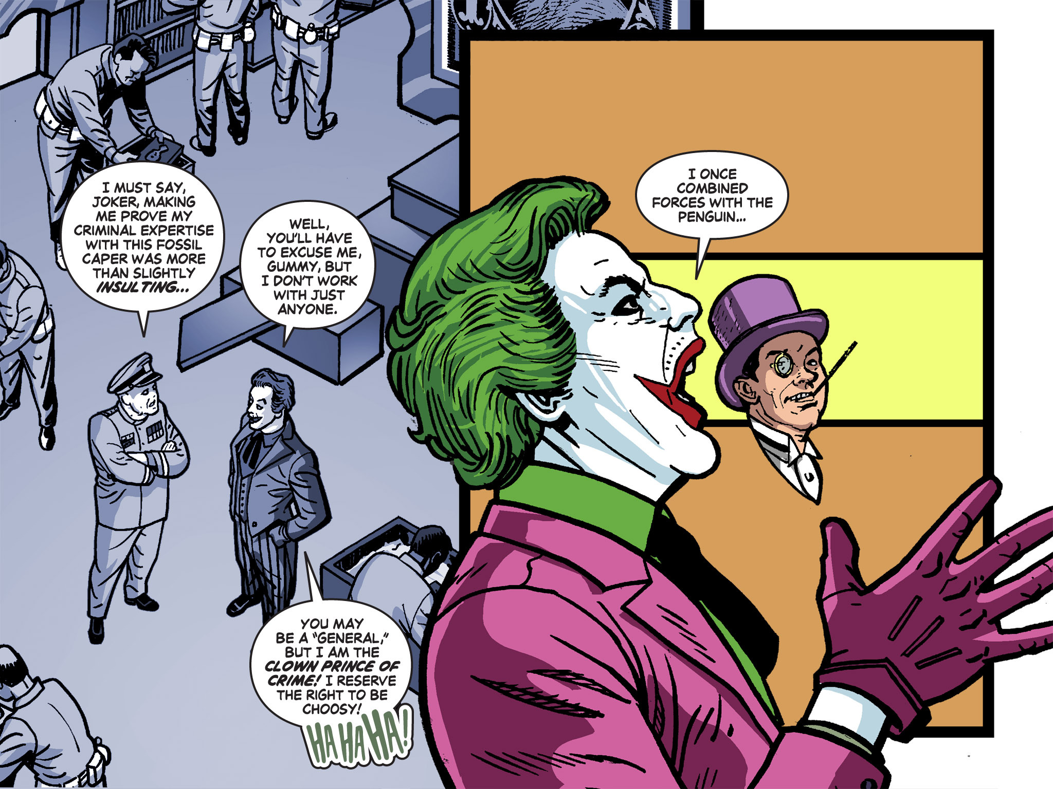 Read online Batman '66 Meets the Green Hornet [II] comic -  Issue #4 - 5