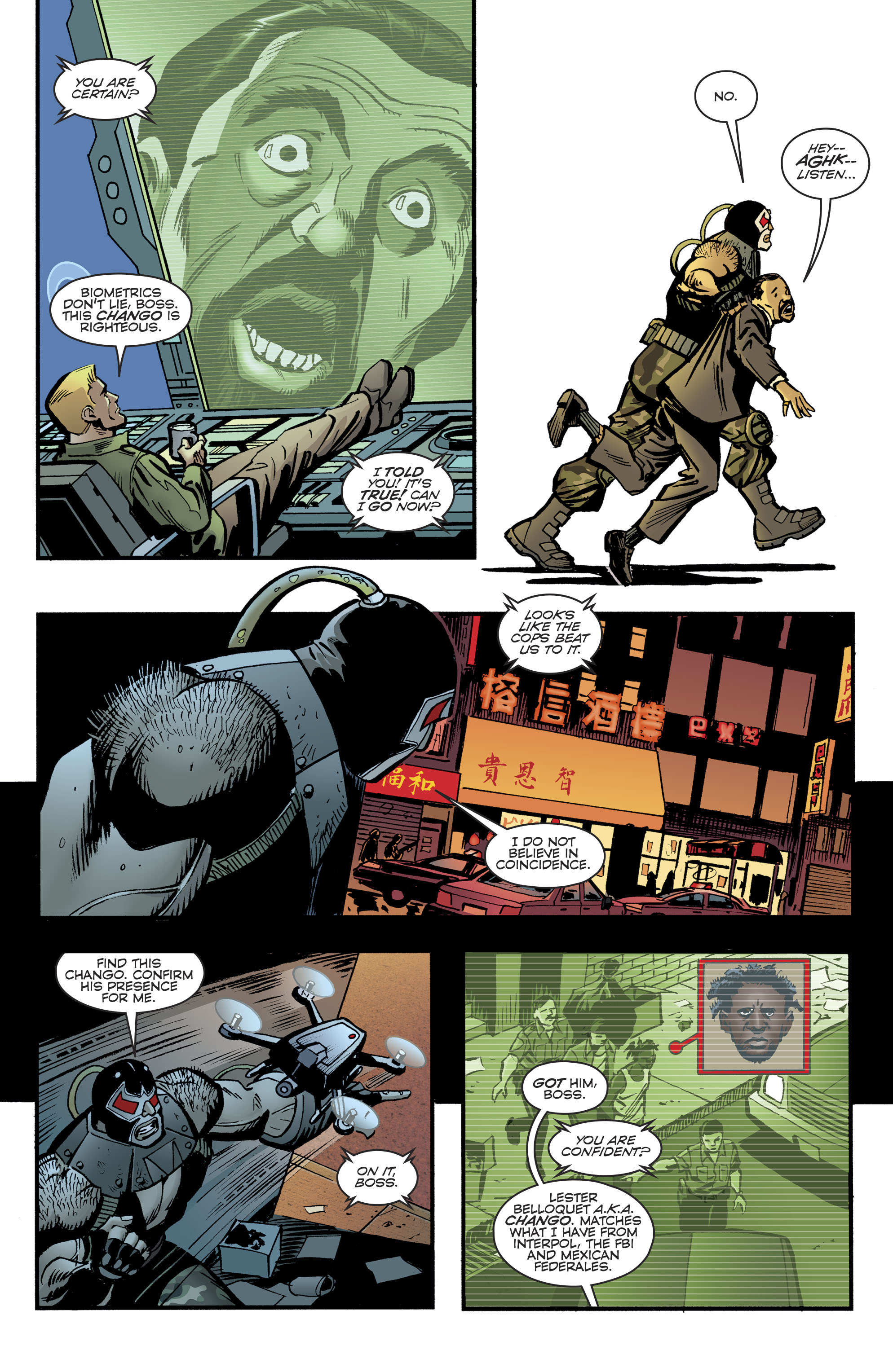 Read online Bane: Conquest comic -  Issue #1 - 15