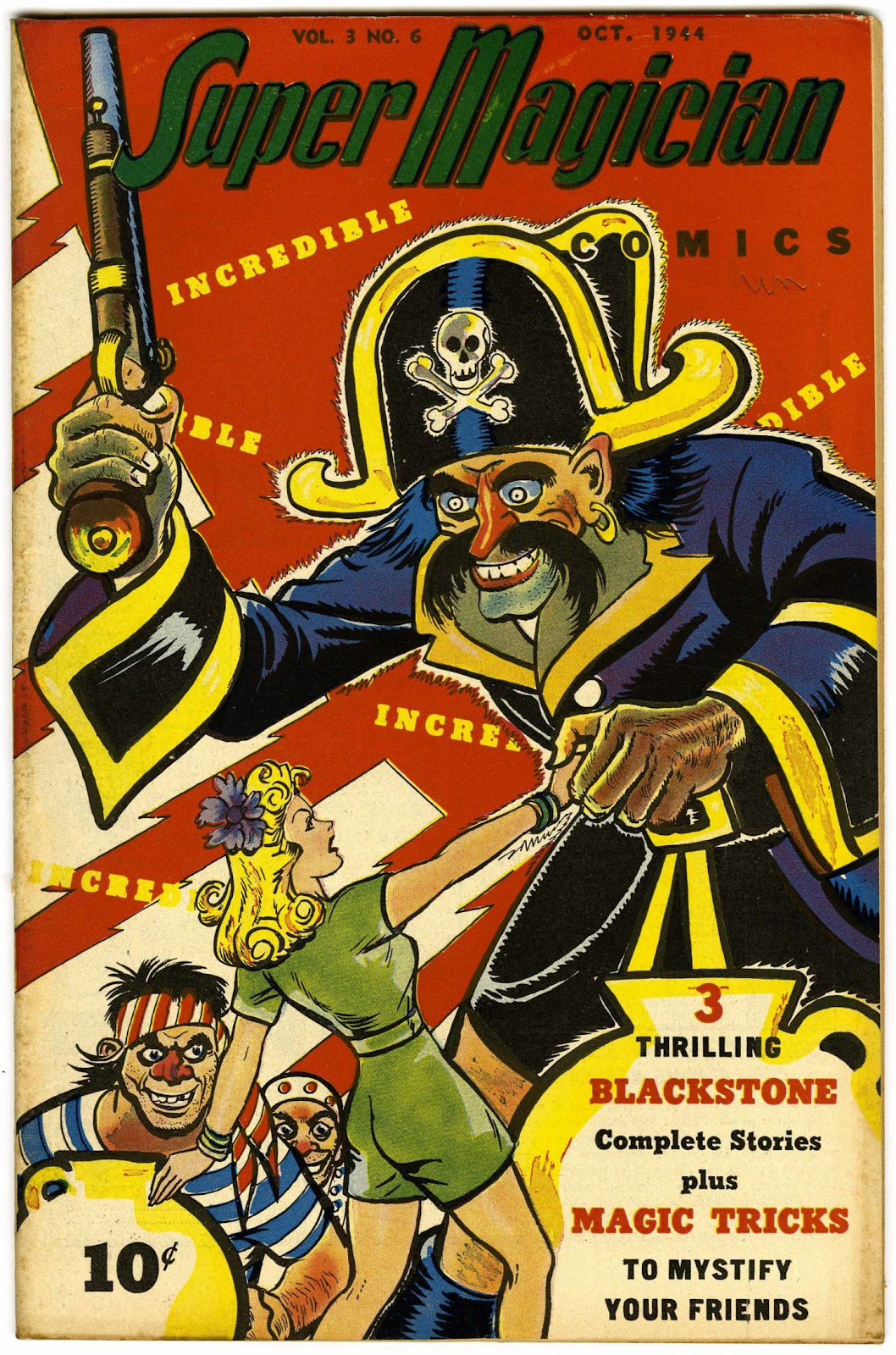 Super-Magician Comics issue 30 - Page 1