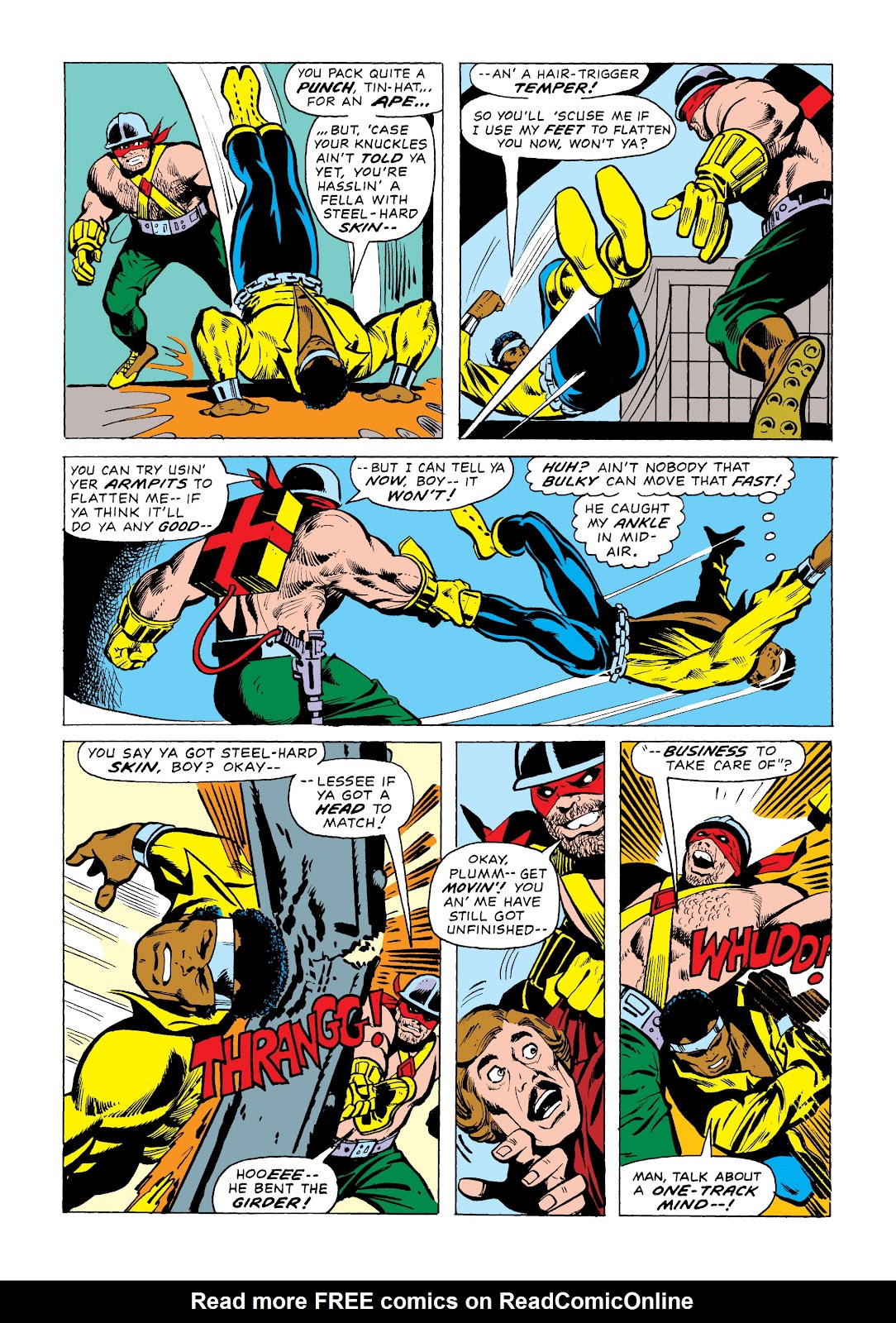 Read online Marvel Masterworks: Luke Cage, Power Man comic -  Issue # TPB 2 (Part 1) - 35