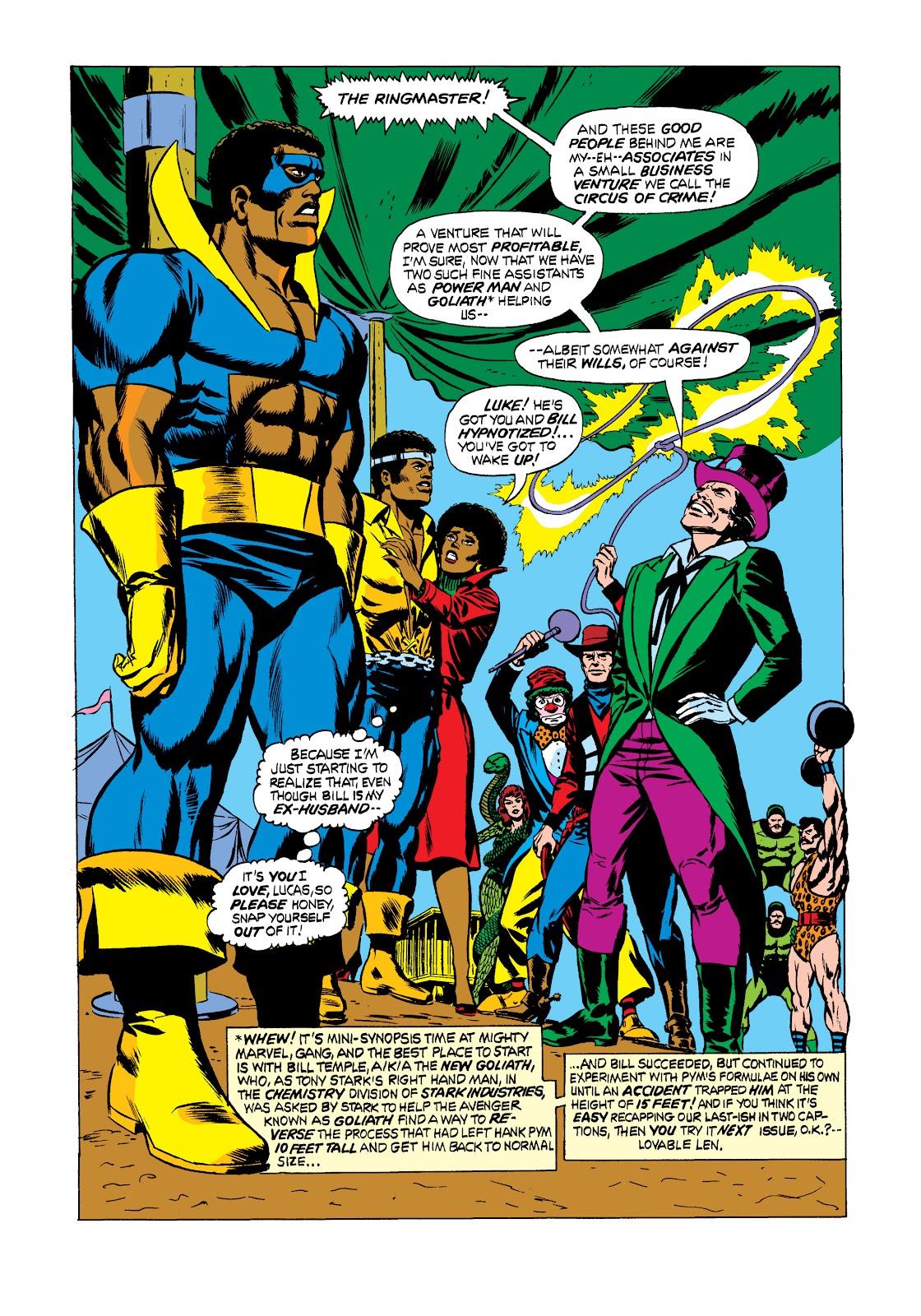 Read online Marvel Masterworks: Luke Cage, Power Man comic -  Issue # TPB 2 (Part 2) - 63