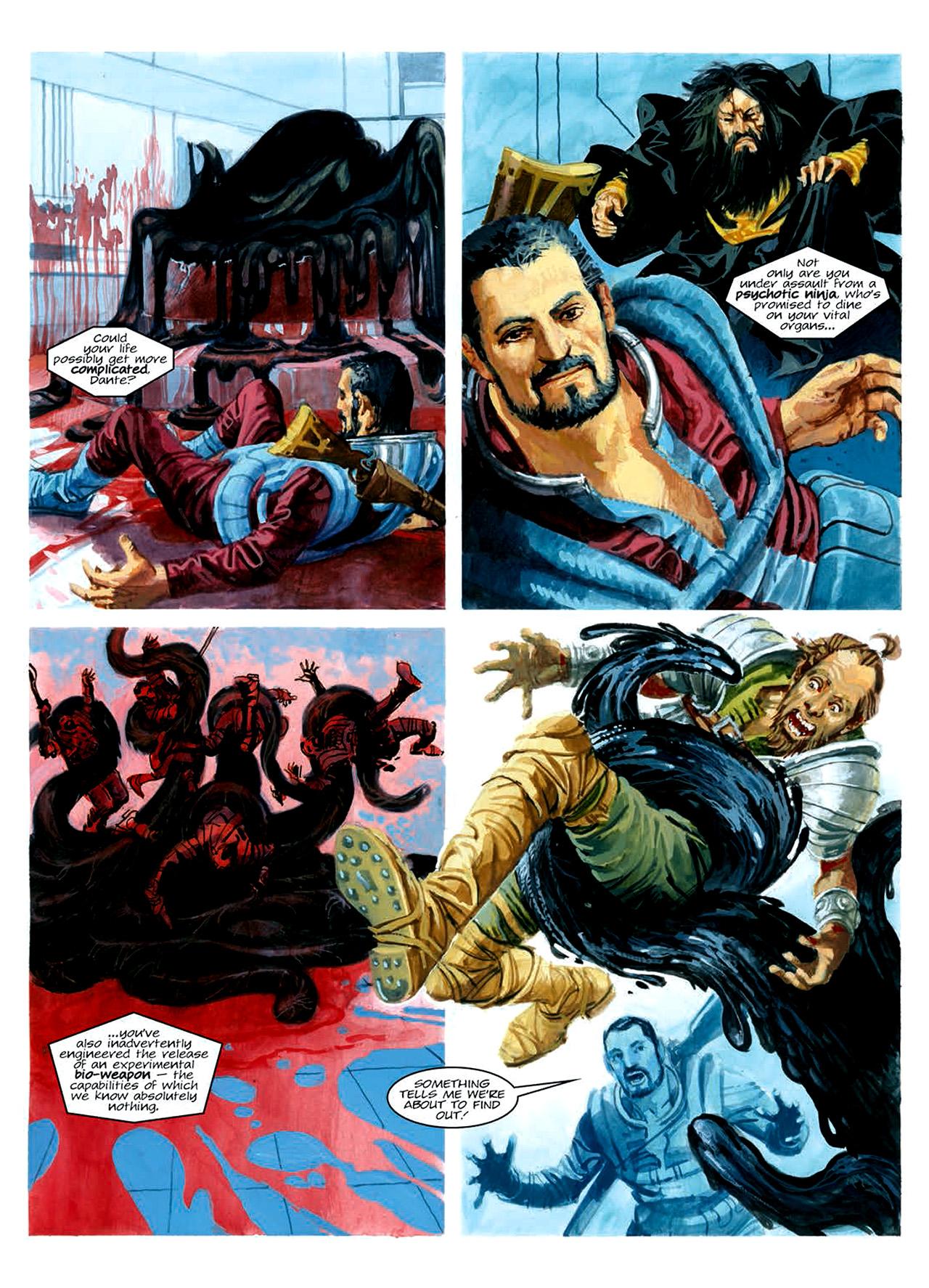 Read online Nikolai Dante comic -  Issue # TPB 6 - 180