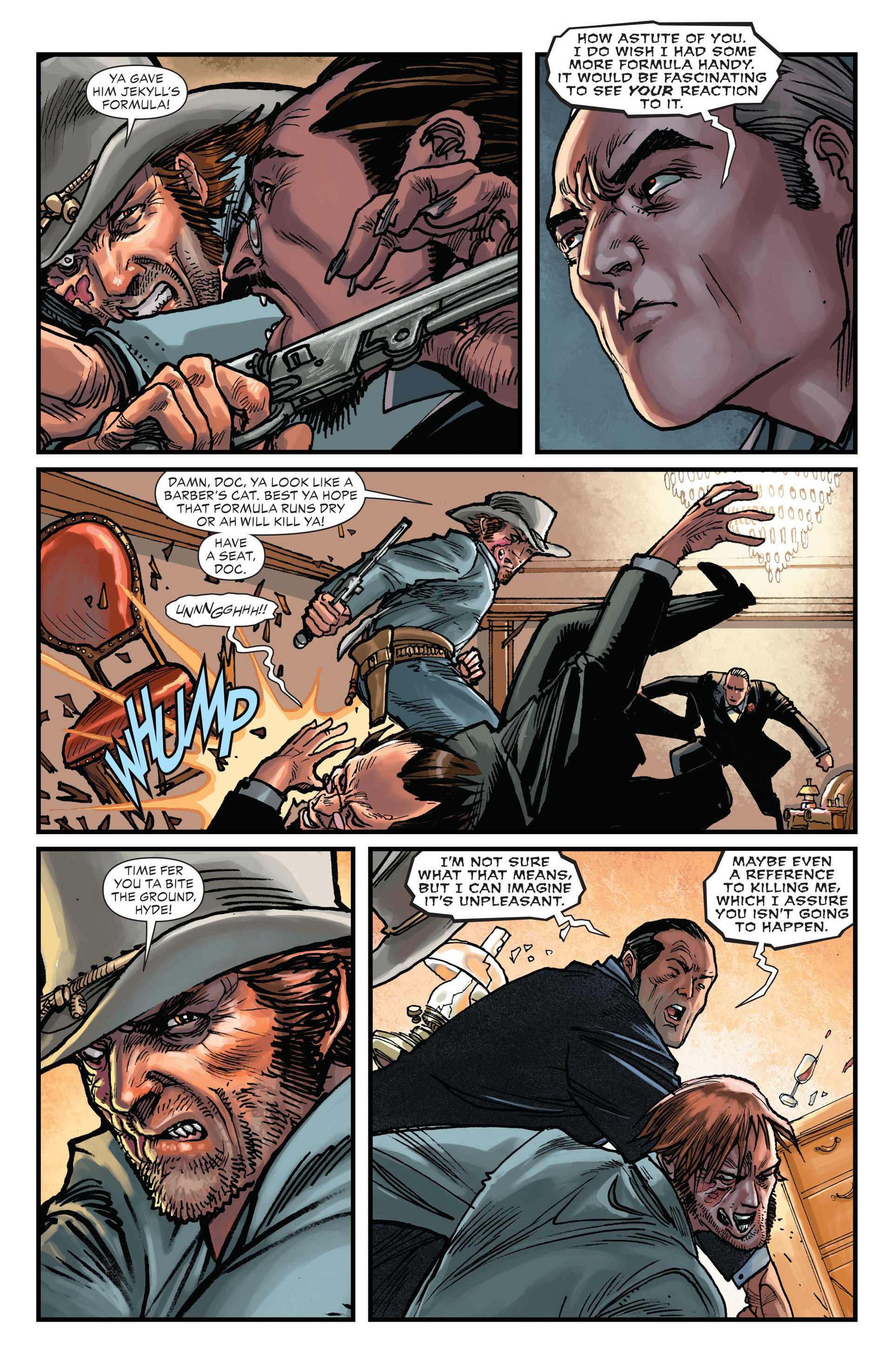 Read online All-Star Western (2011) comic -  Issue #15 - 5