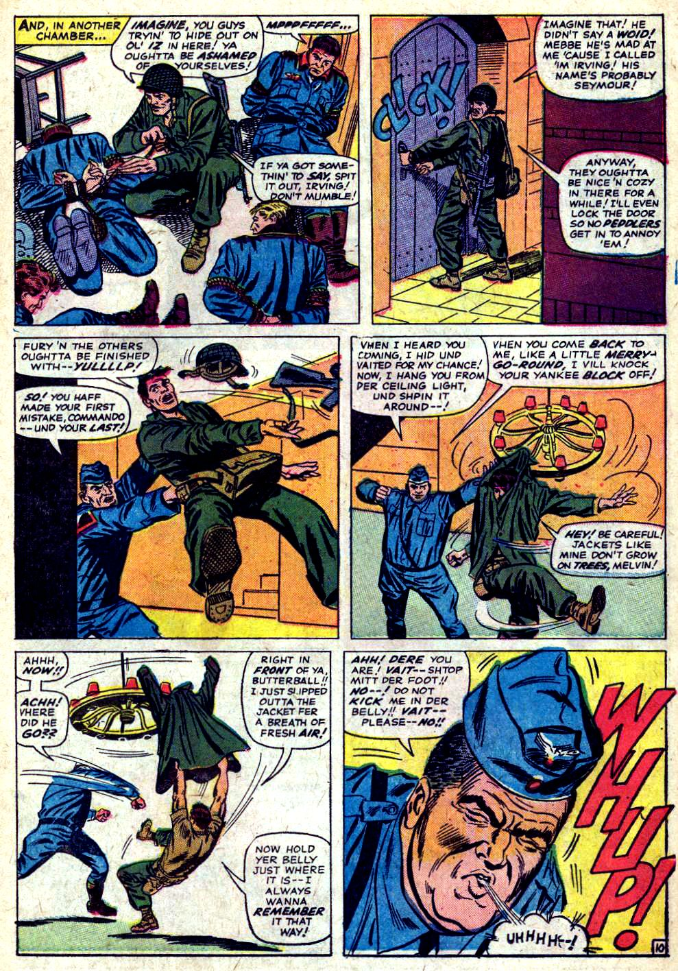 Read online Sgt. Fury comic -  Issue #20 - 15