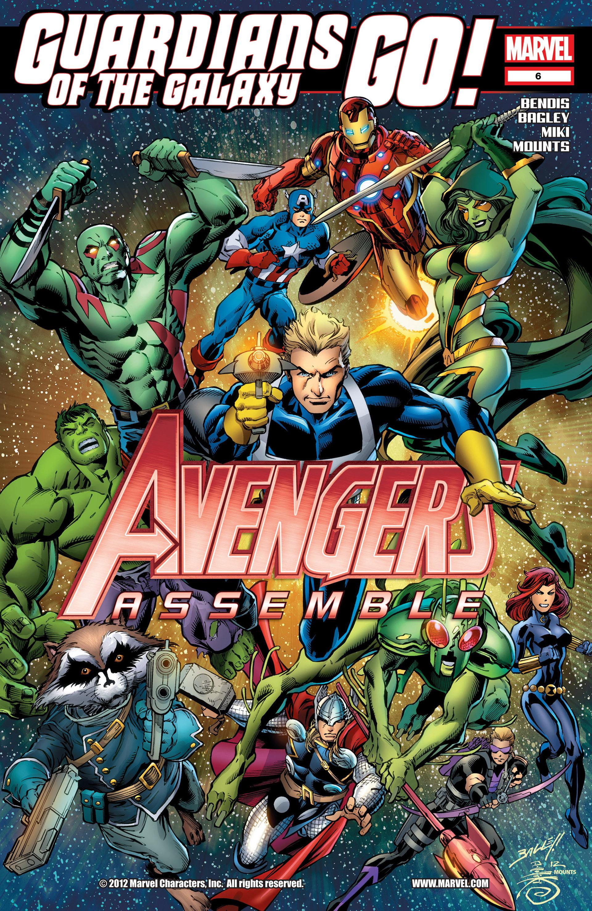 Avengers Assemble (2012) 6 Page 1