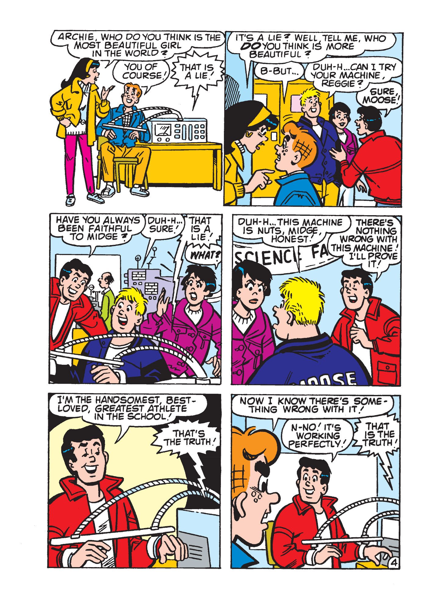 Read online Archie's Funhouse Double Digest comic -  Issue #9 - 151