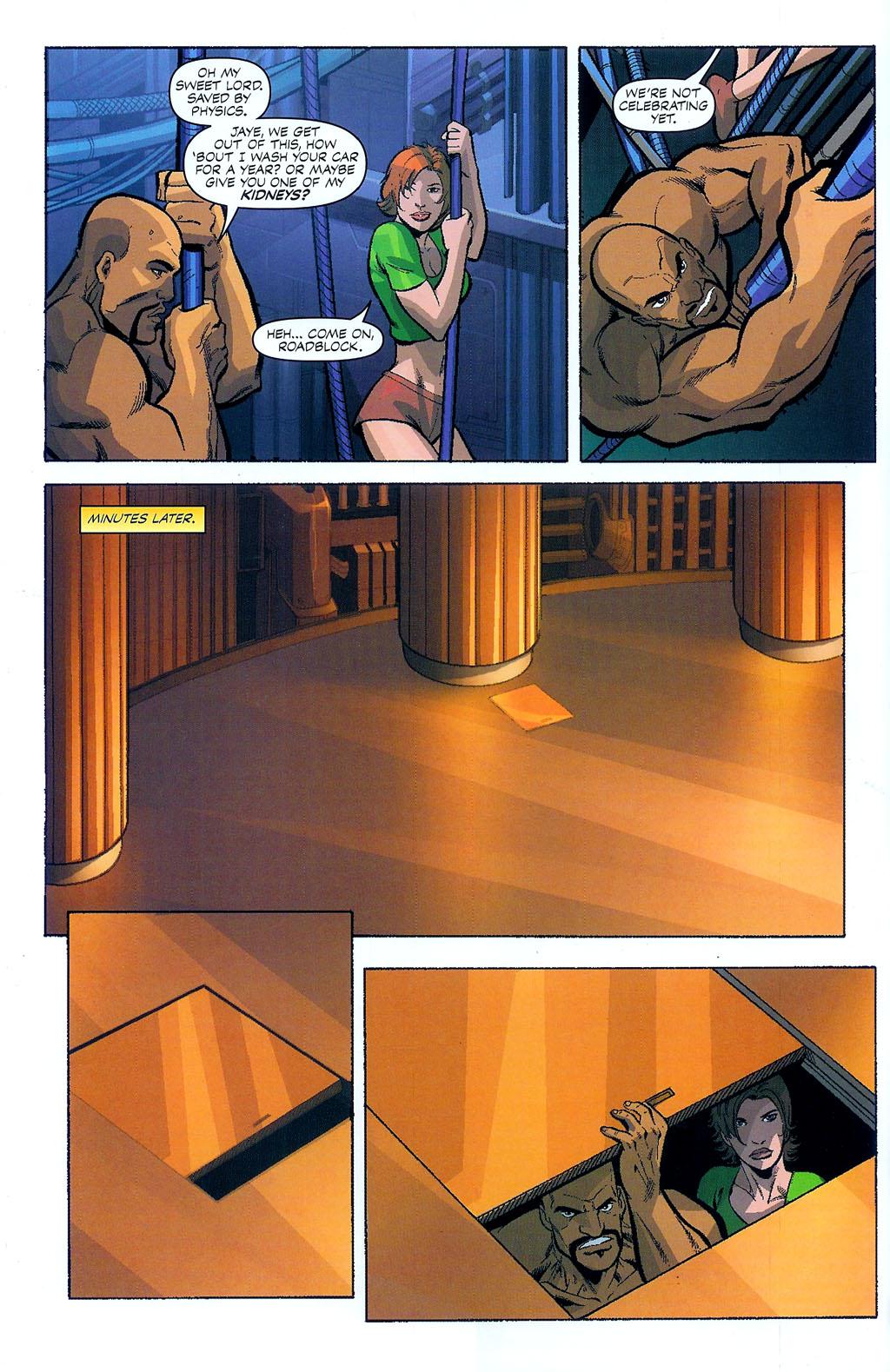 G.I. Joe vs. The Transformers II Issue #4 #5 - English 8
