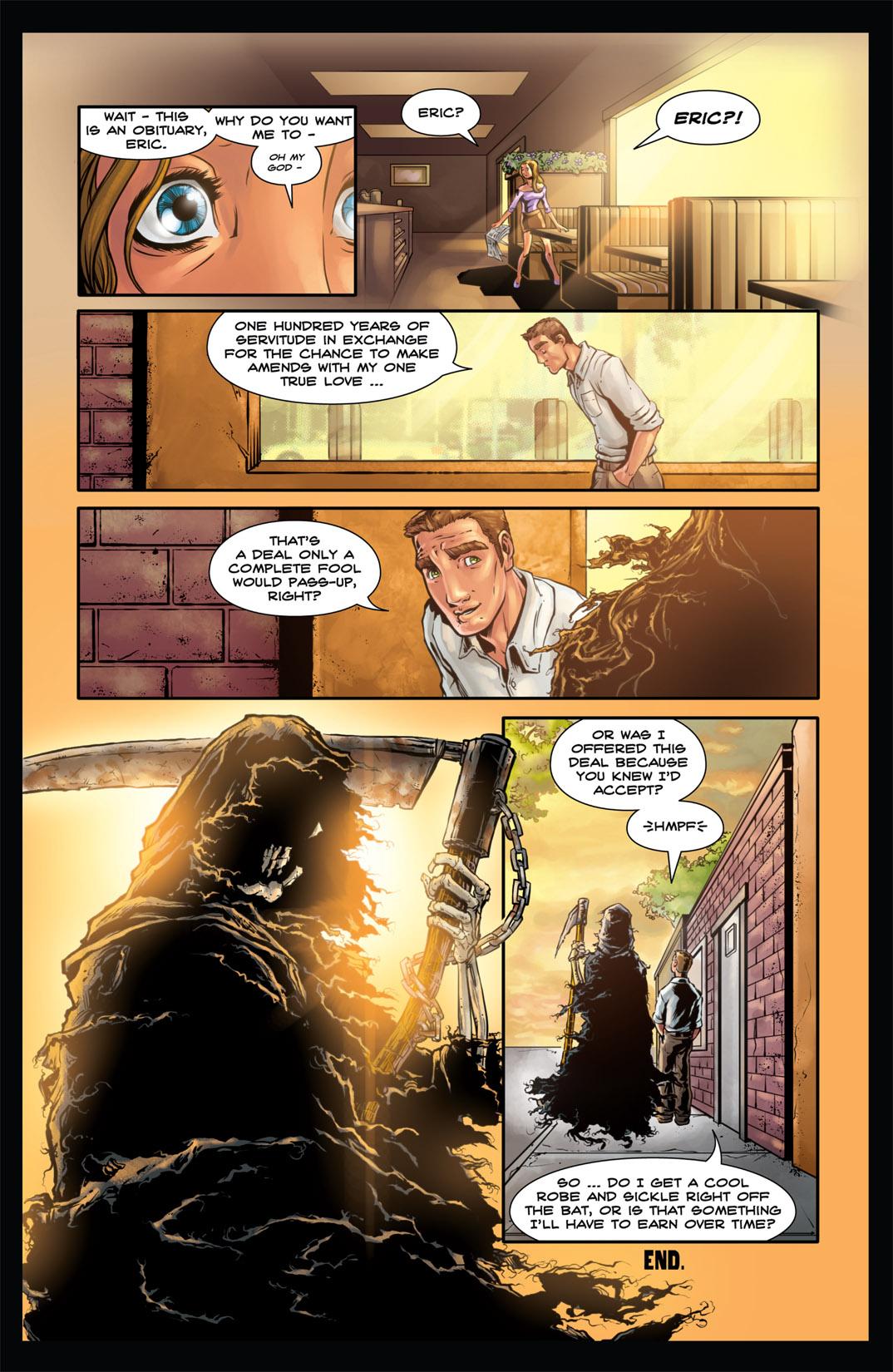 Read online Nightmare World comic -  Issue # Vol. 1 Thirteen Tales of Terror - 124
