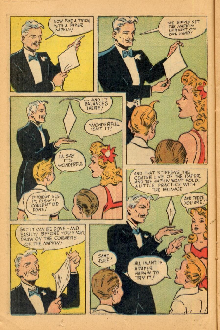 Read online Super-Magician Comics comic -  Issue #45 - 18
