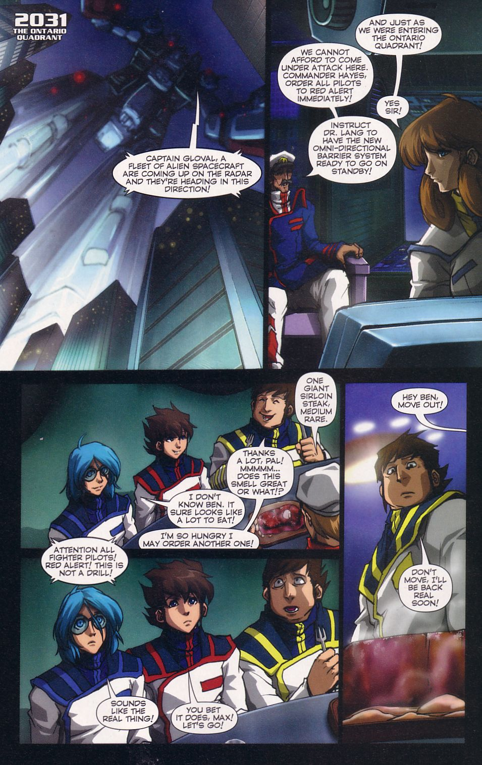 Read online Robotech: Love and War comic -  Issue #5 - 4