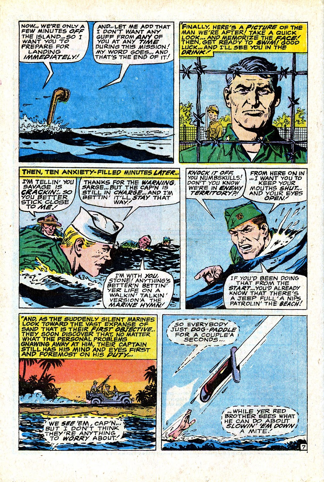 Captain Savage and his Leatherneck Raiders issue 18 - Page 12