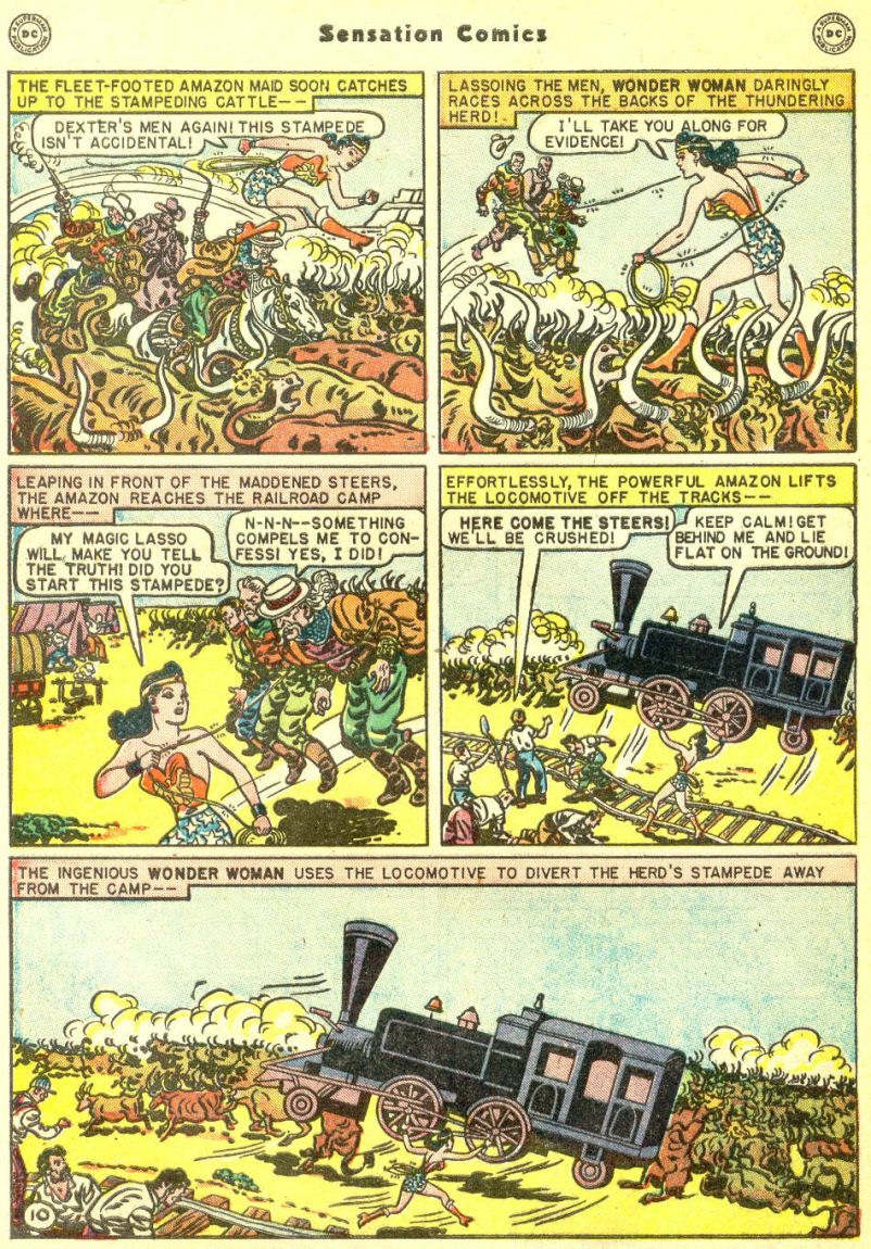 Read online Sensation (Mystery) Comics comic -  Issue #87 - 12