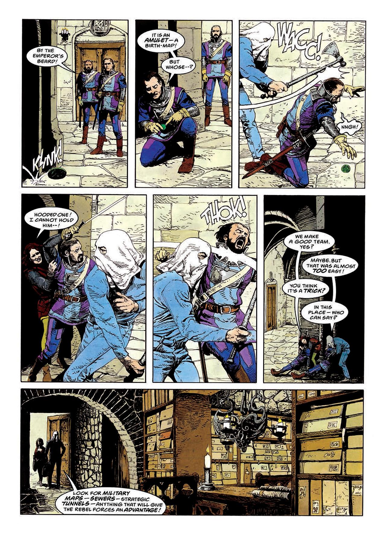 Read online Mazeworld comic -  Issue # TPB - 81