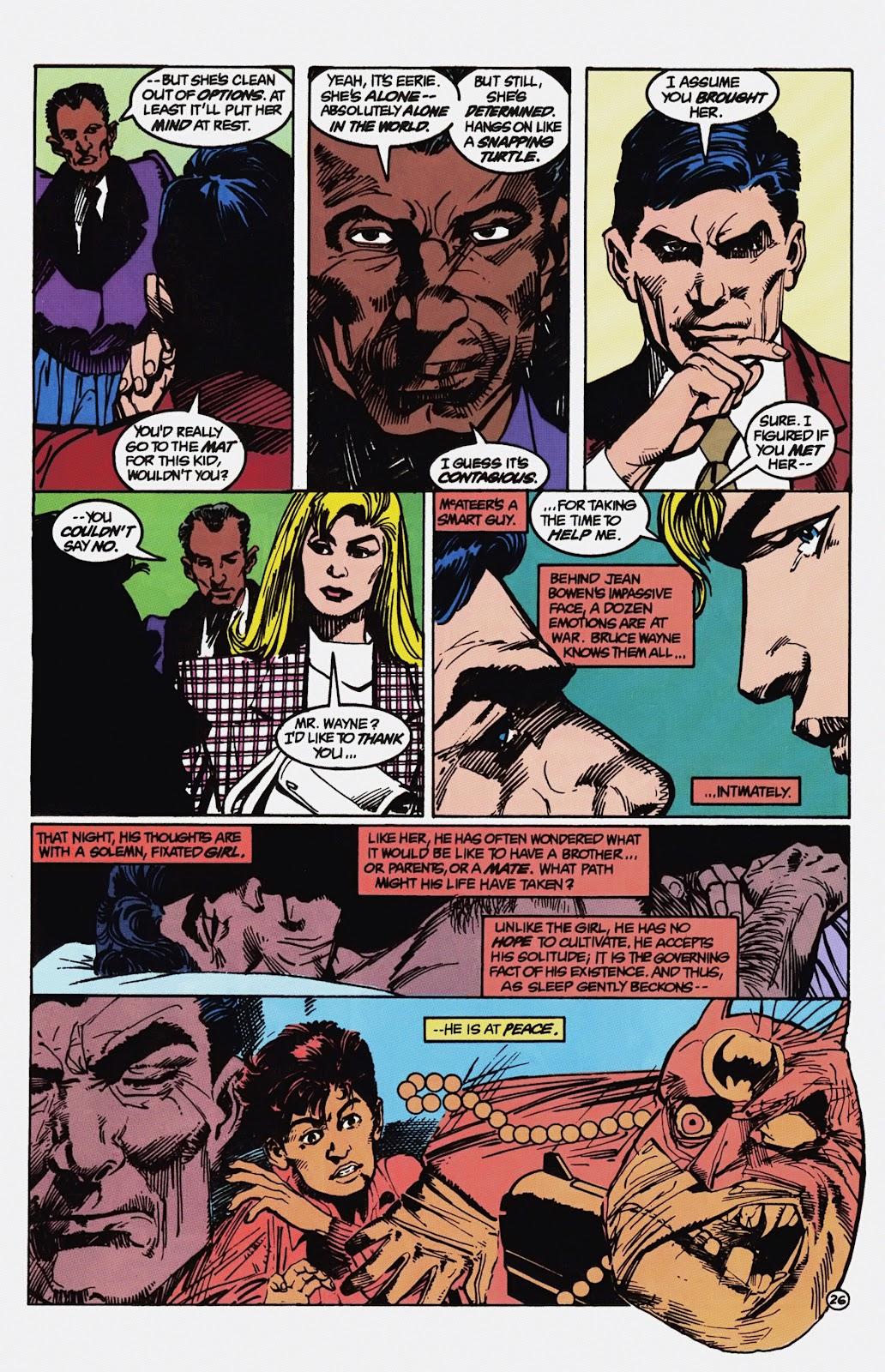 Read online Detective Comics (1937) comic -  Issue # _TPB Batman - Blind Justice (Part 1) - 31