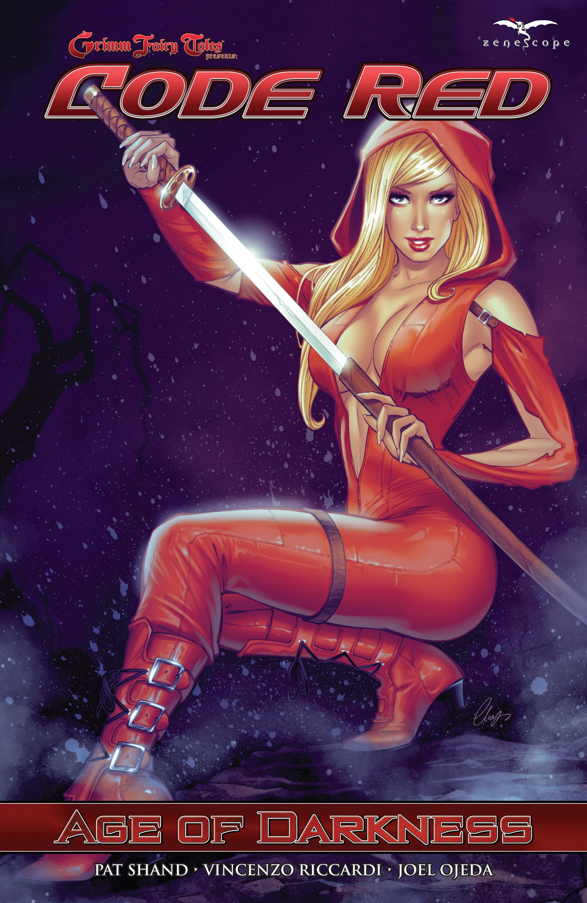 Read online Grimm Fairy Tales presents Code Red comic -  Issue # TPB - 1