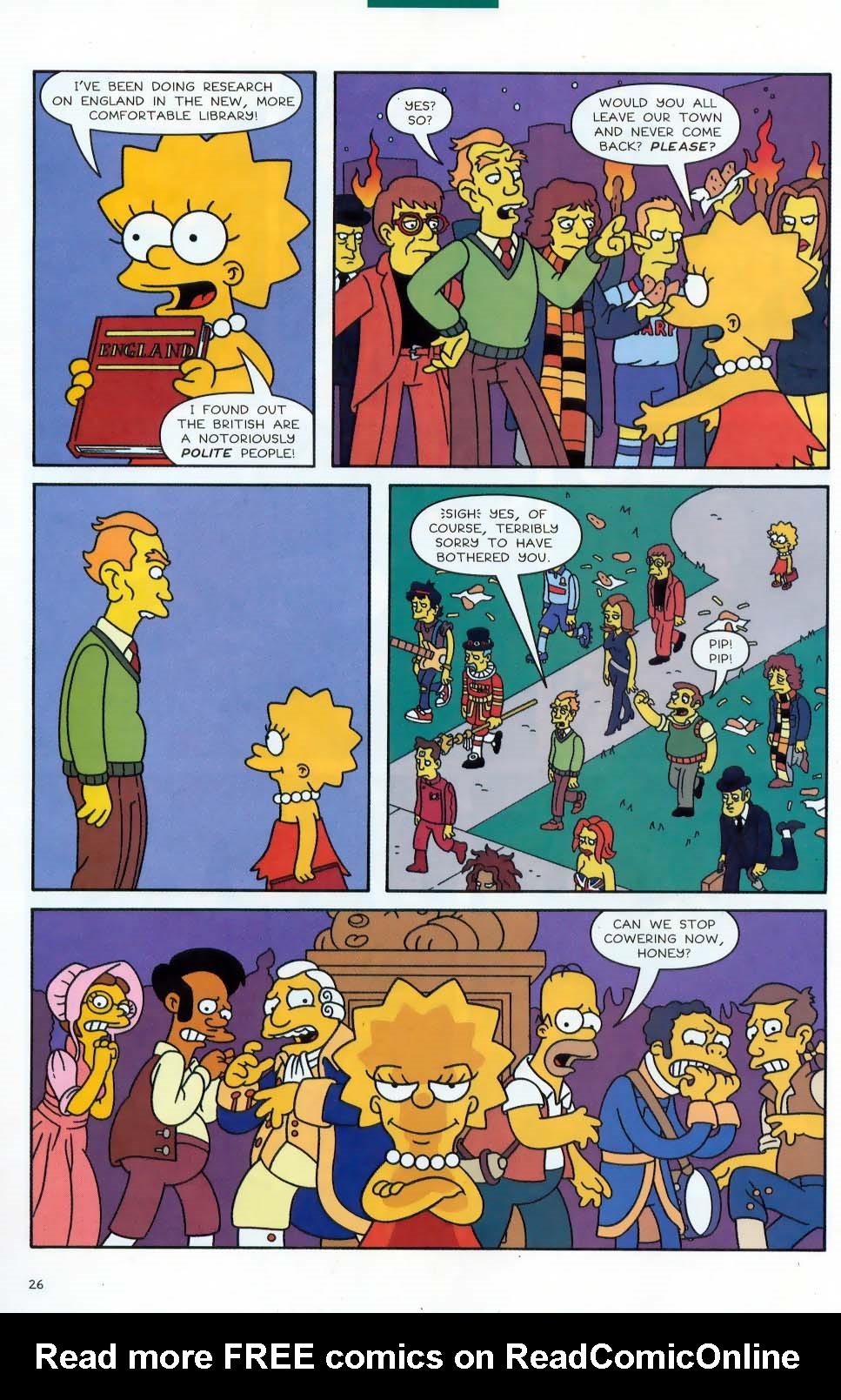 Read online Simpsons Comics comic -  Issue #87 - 27