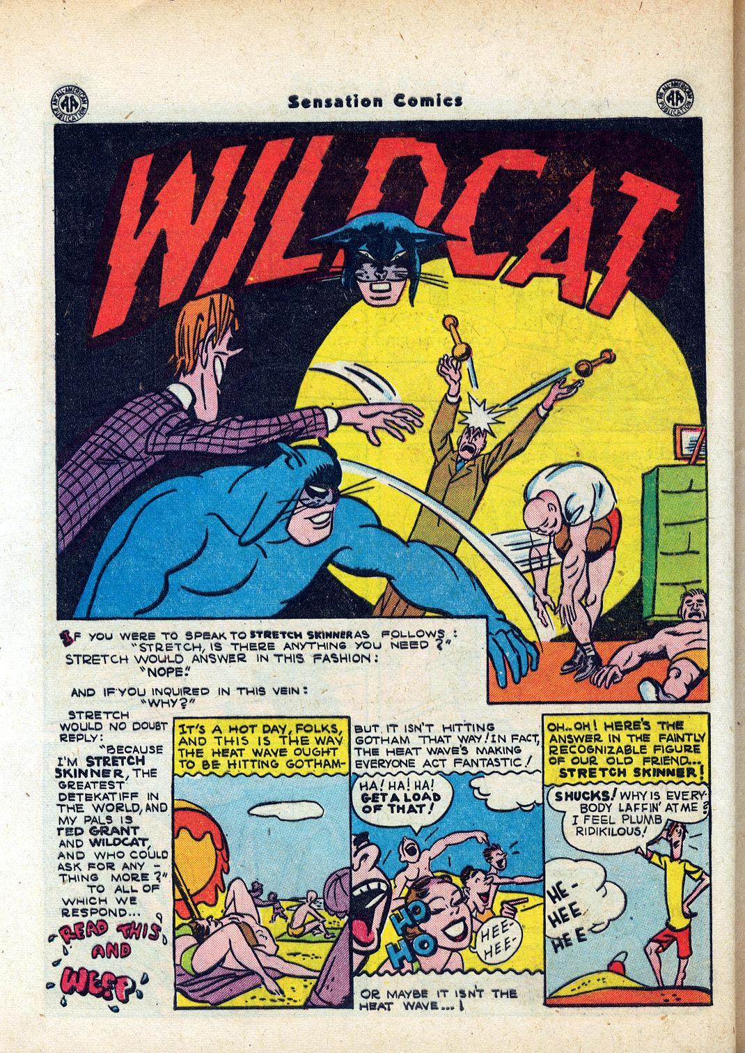 Read online Sensation (Mystery) Comics comic -  Issue #45 - 42