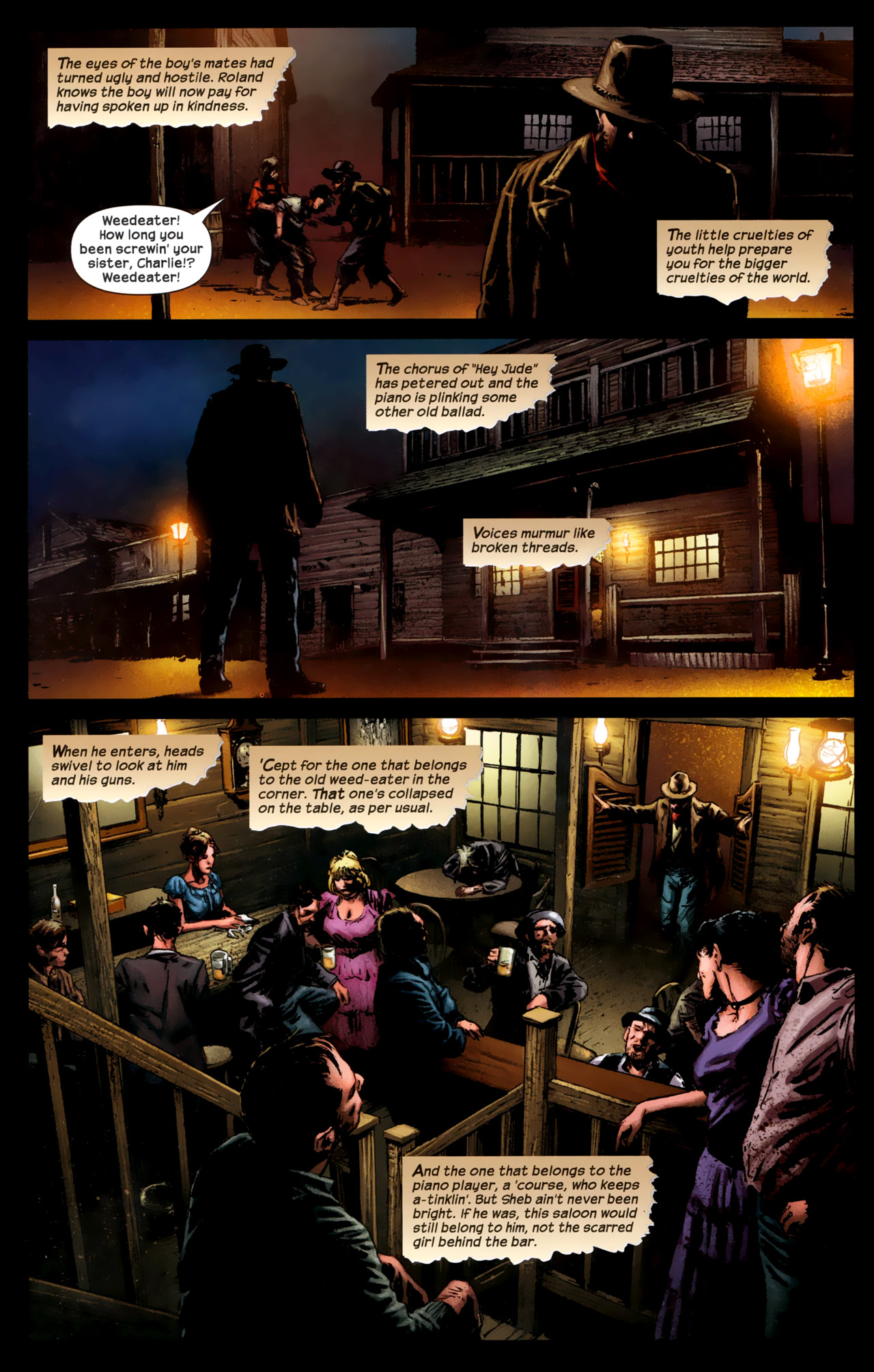 Read online Dark Tower: The Gunslinger - The Battle of Tull comic -  Issue #1 - 17