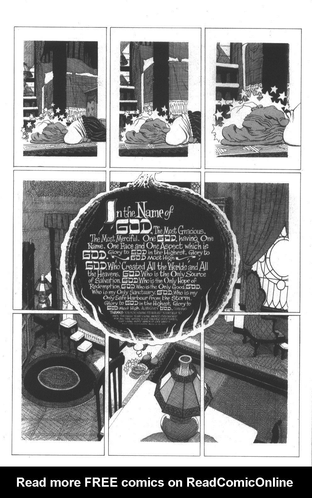 Cerebus Issue #296 #294 - English 12