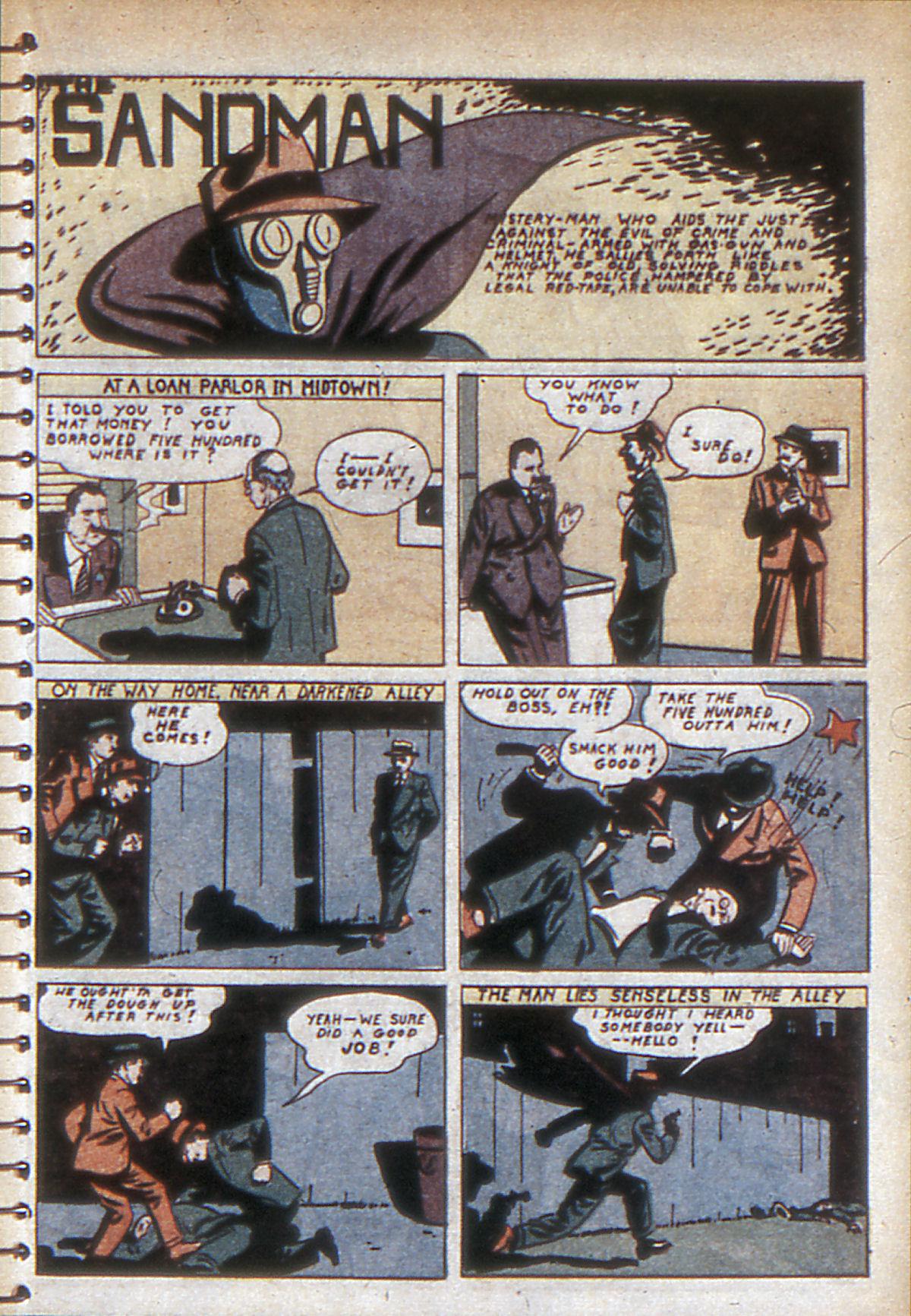 Read online Adventure Comics (1938) comic -  Issue #53 - 58