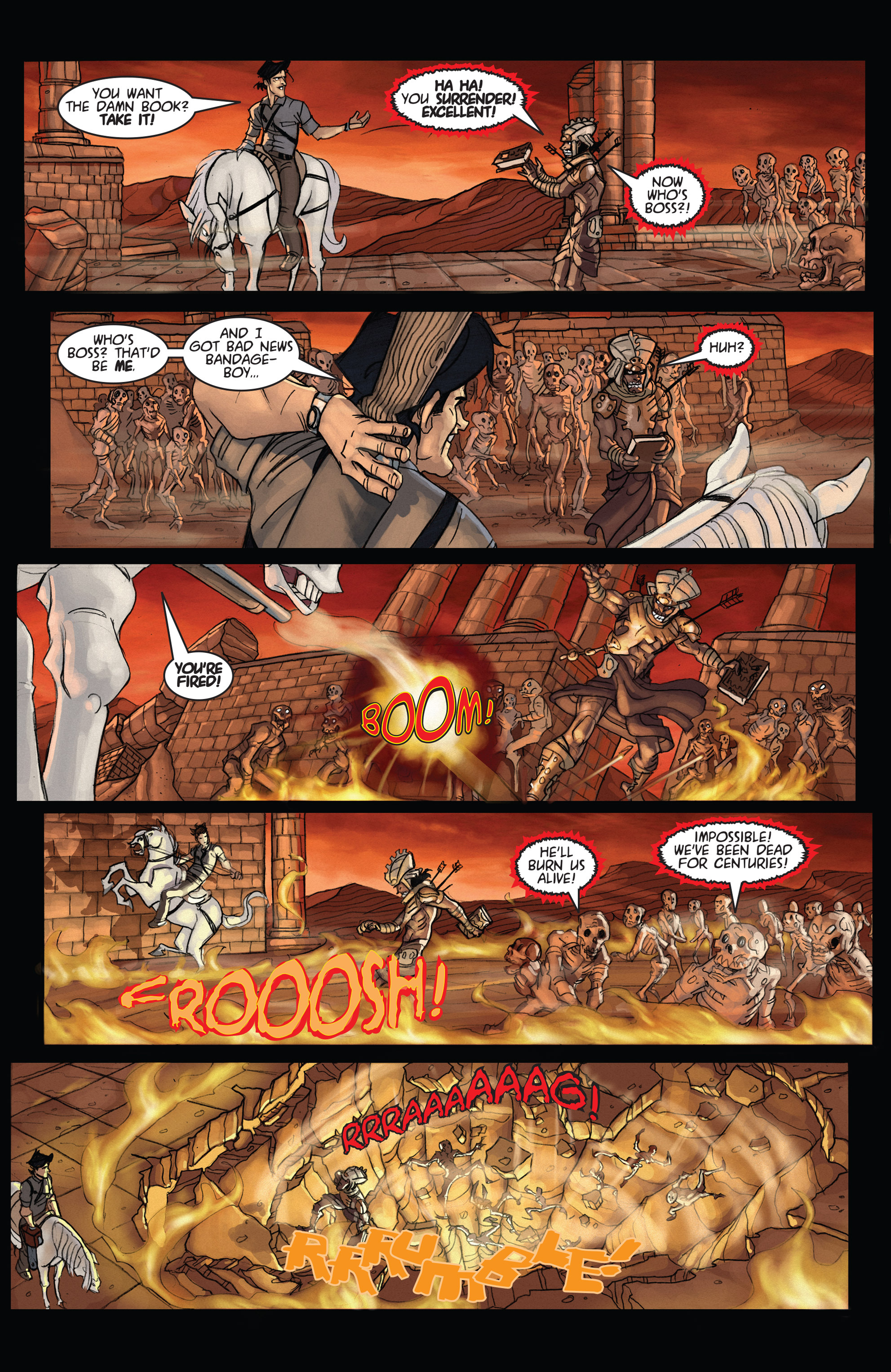 Read online Army of Darkness: Ashes 2 Ashes comic -  Issue #4 - 22
