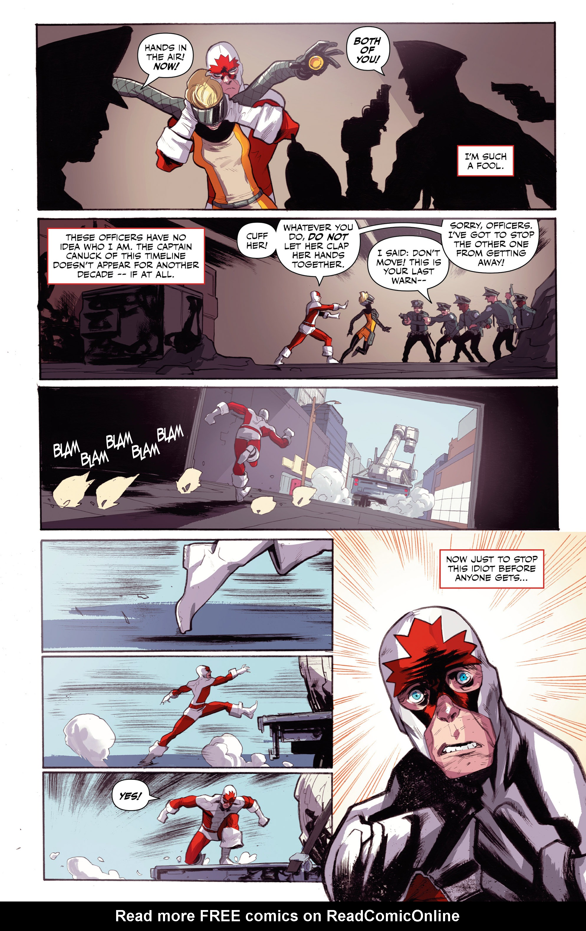 Read online All-New Classic Captain Canuck comic -  Issue #0 - 27
