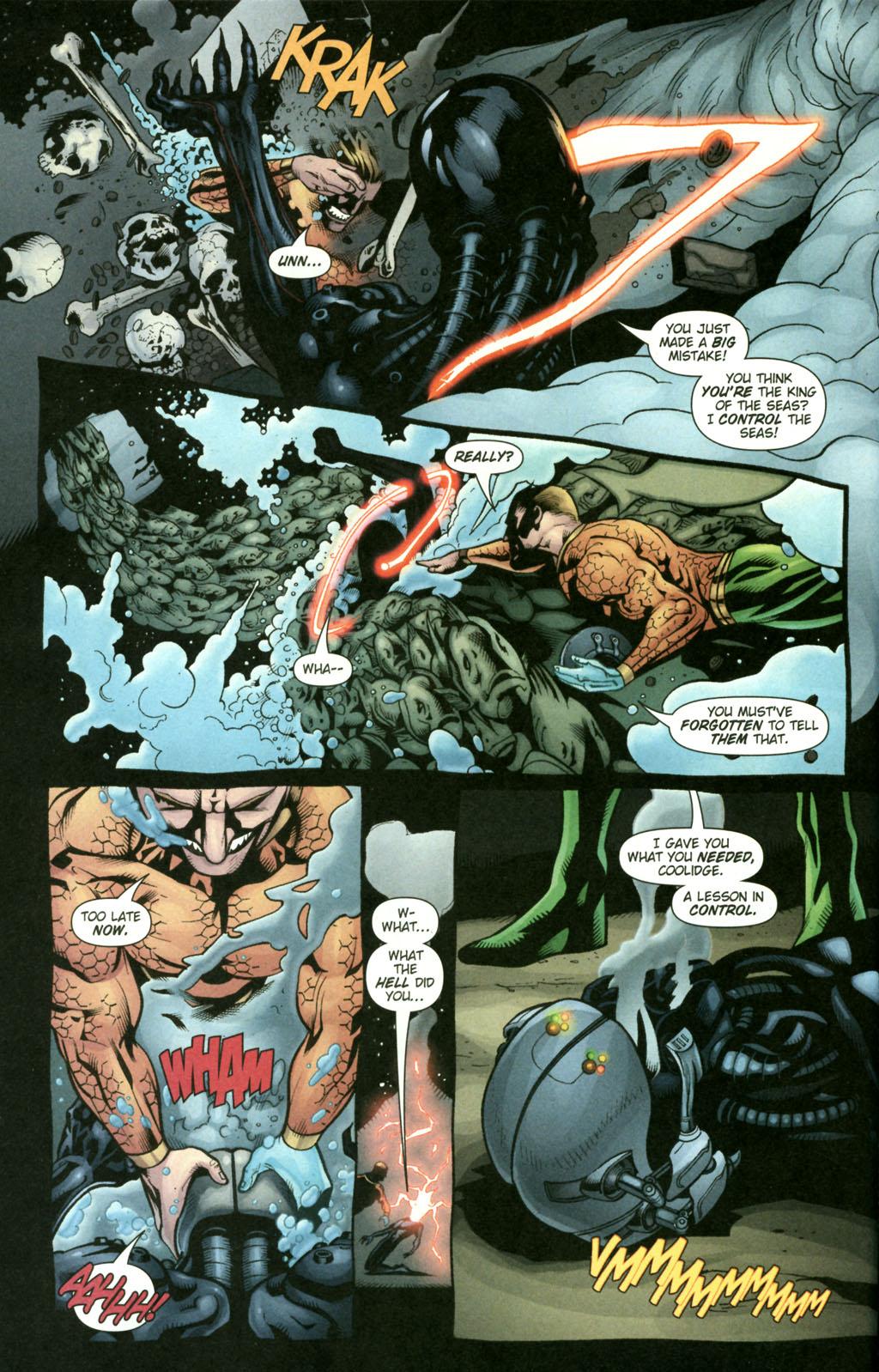 Read online Aquaman (2003) comic -  Issue #22 - 8